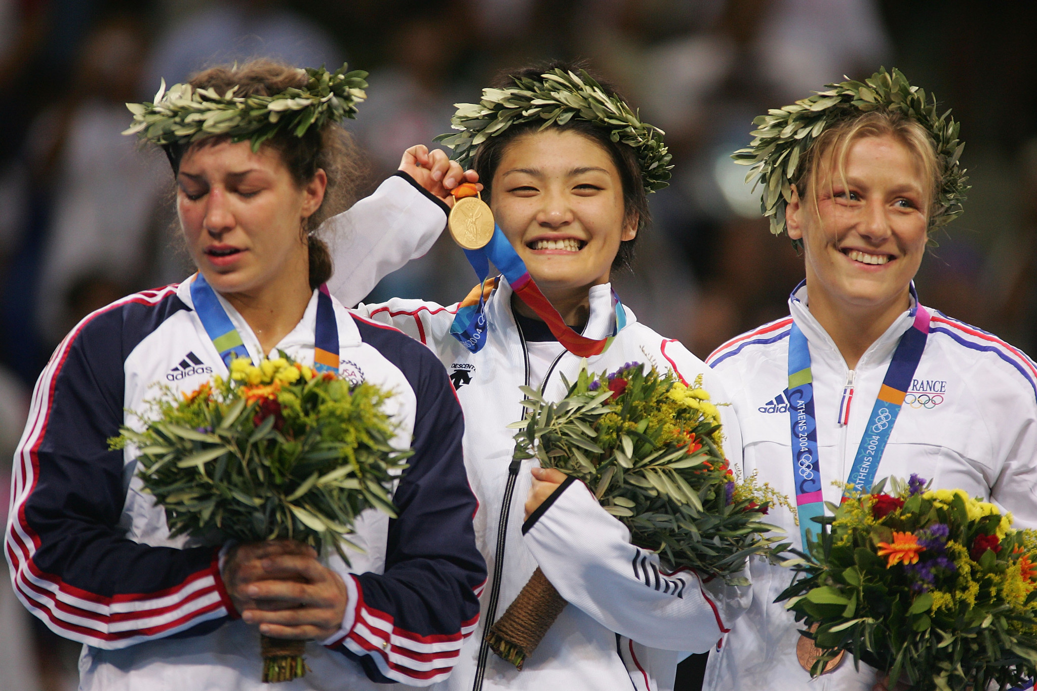 Kaori Icho's first three Olympic titles came at 63kg ©Getty Images