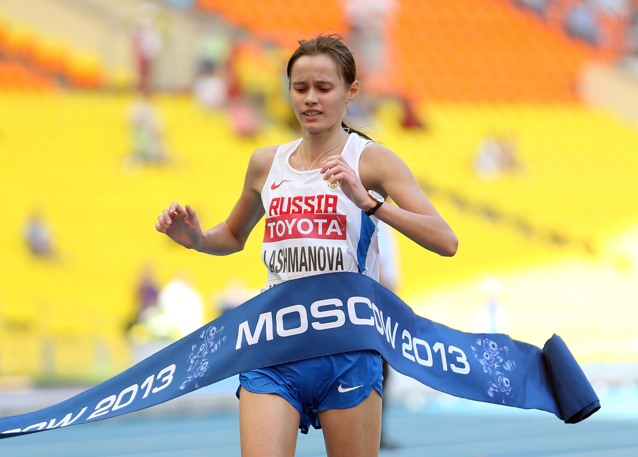 Elena Lashmanova was banned previously for using GW1516 ©Getty Images