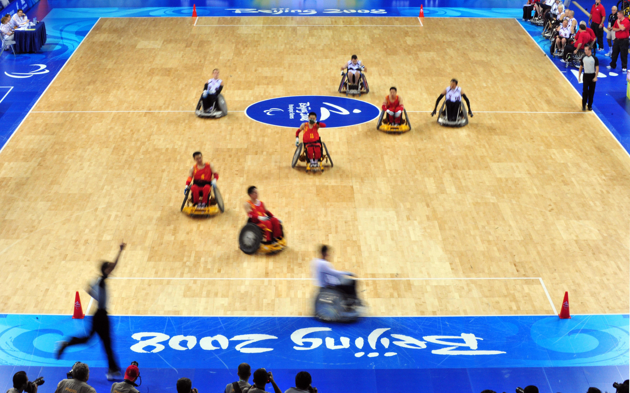 Long-serving wheelchair rugby officials will be eligible for recognition ©Getty Images