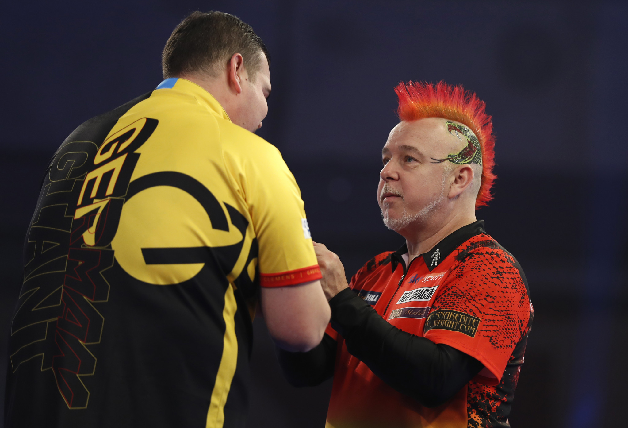 Clemens knocks defending champion Wright out of World Darts Championship
