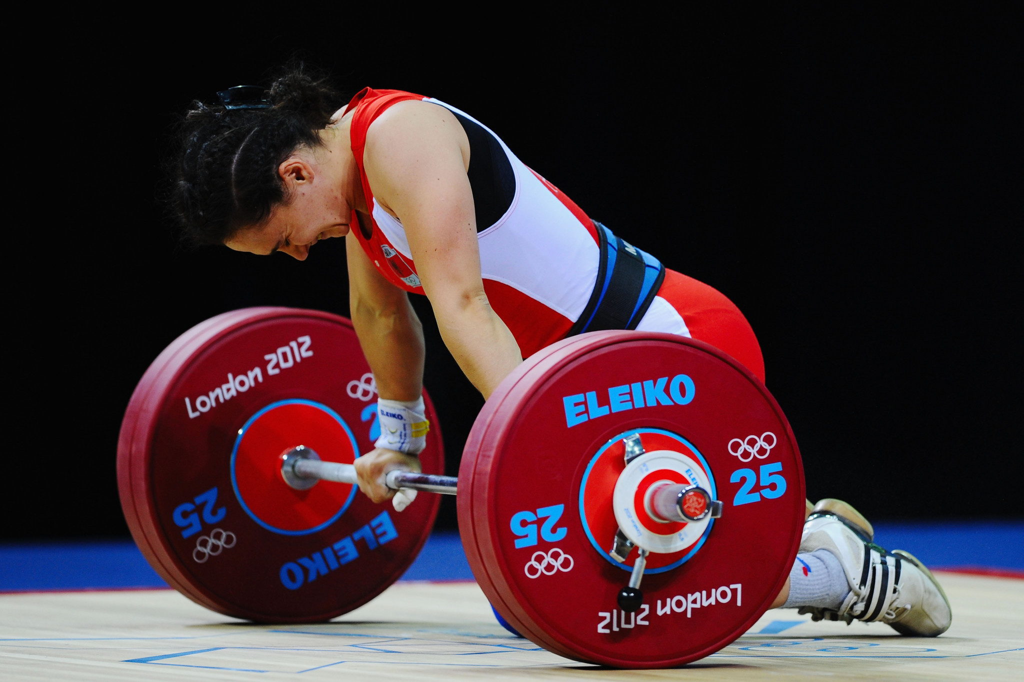 A doping scandal concerning Romela Begaj led to the entire Albanian Weightlifting Federation Board resigning in 2018 ©Getty Images