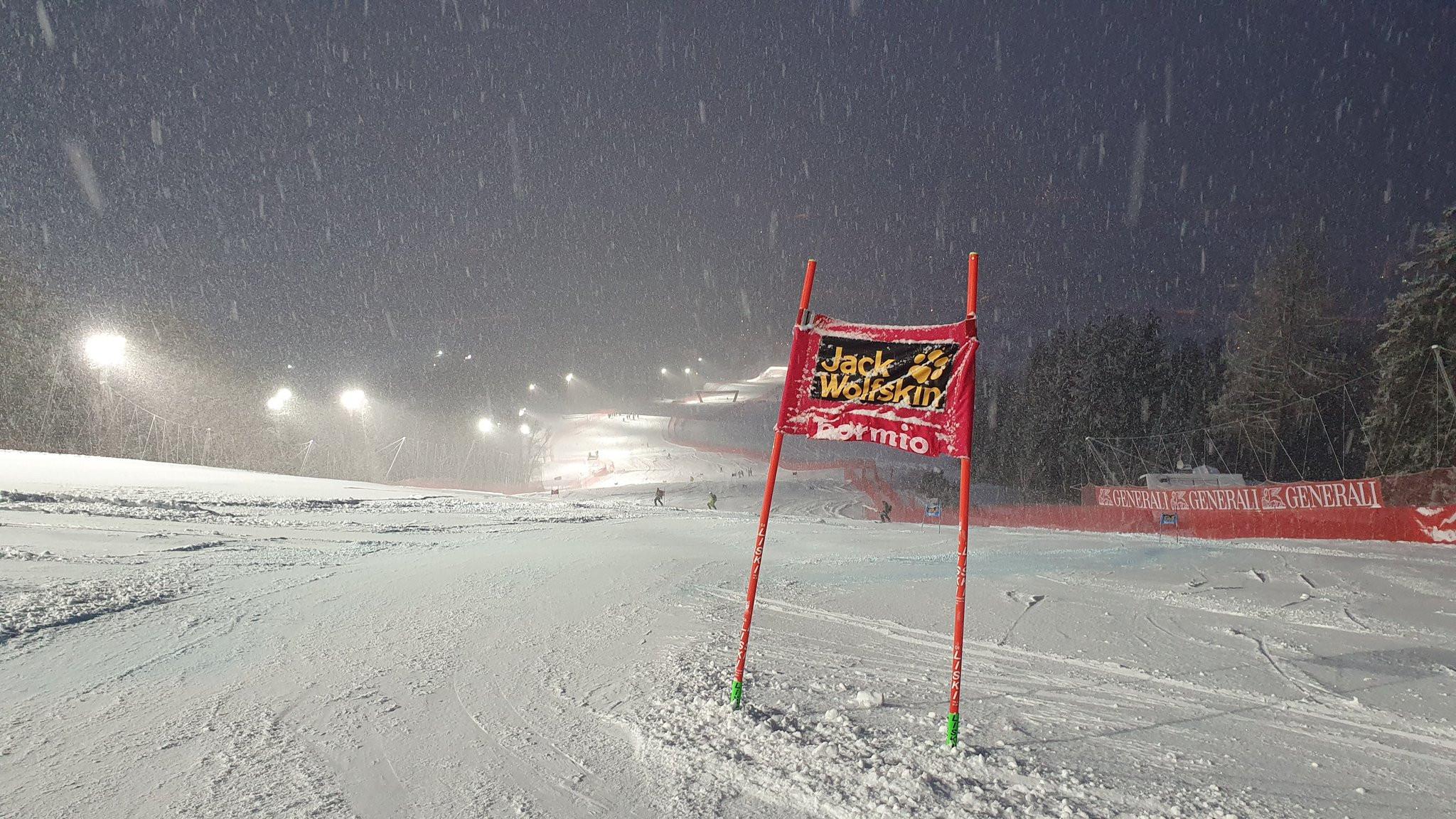 Snowfall postpones Bormio Alpine Ski World Cup races