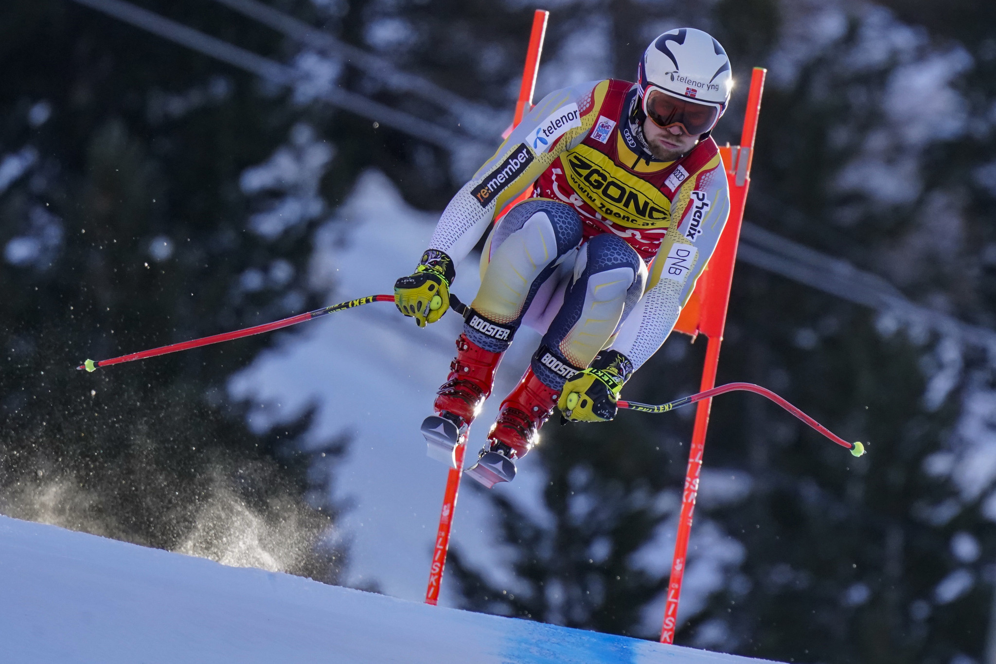 Aleksander Aamodt Kilde and his competition were able to complete training runs yesterday ©Getty Images