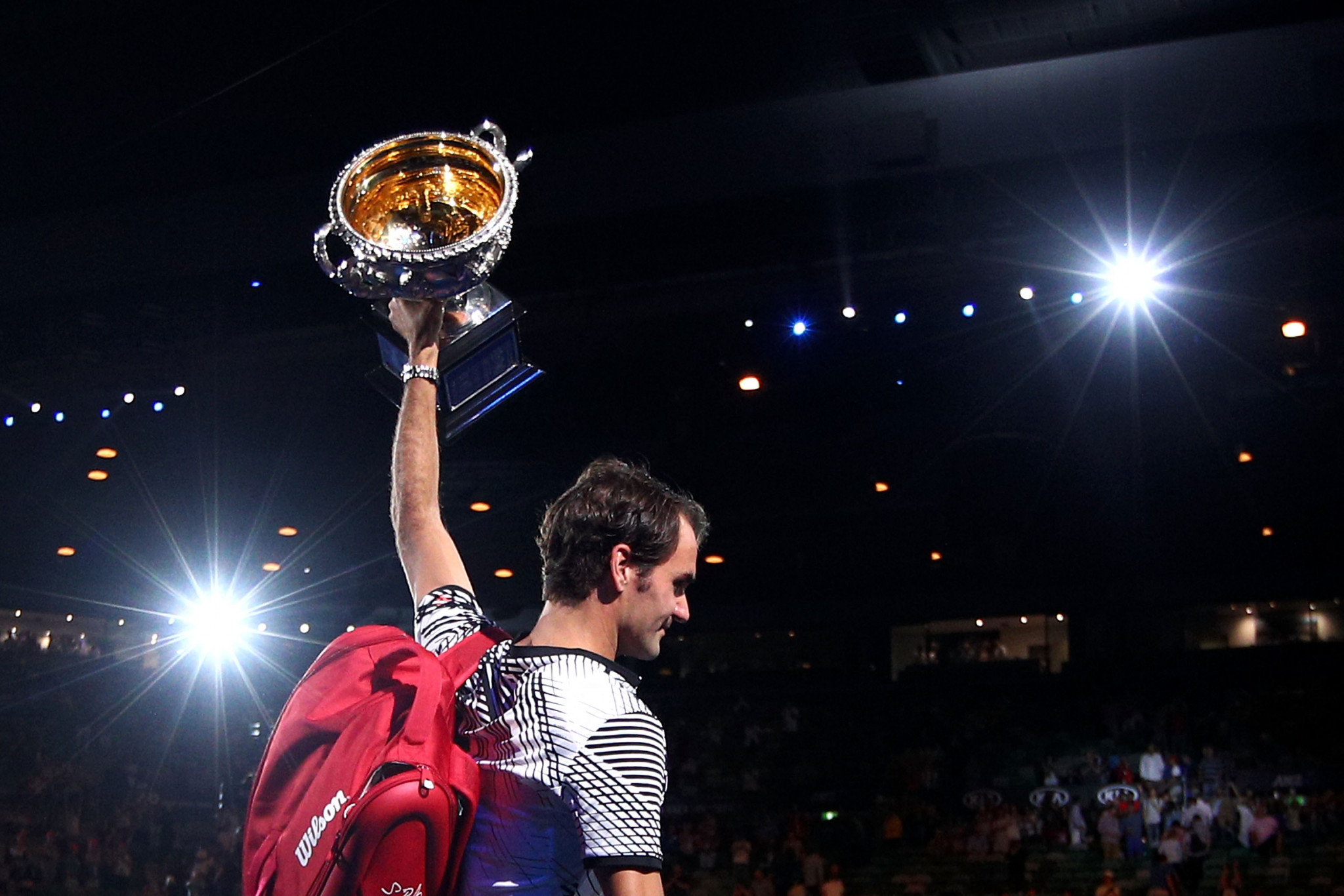 Roger Federer is a six-time Australian Open champion ©Getty Images