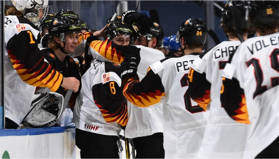 Germany secure dramatic overtime win at World Junior Ice Hockey Championships