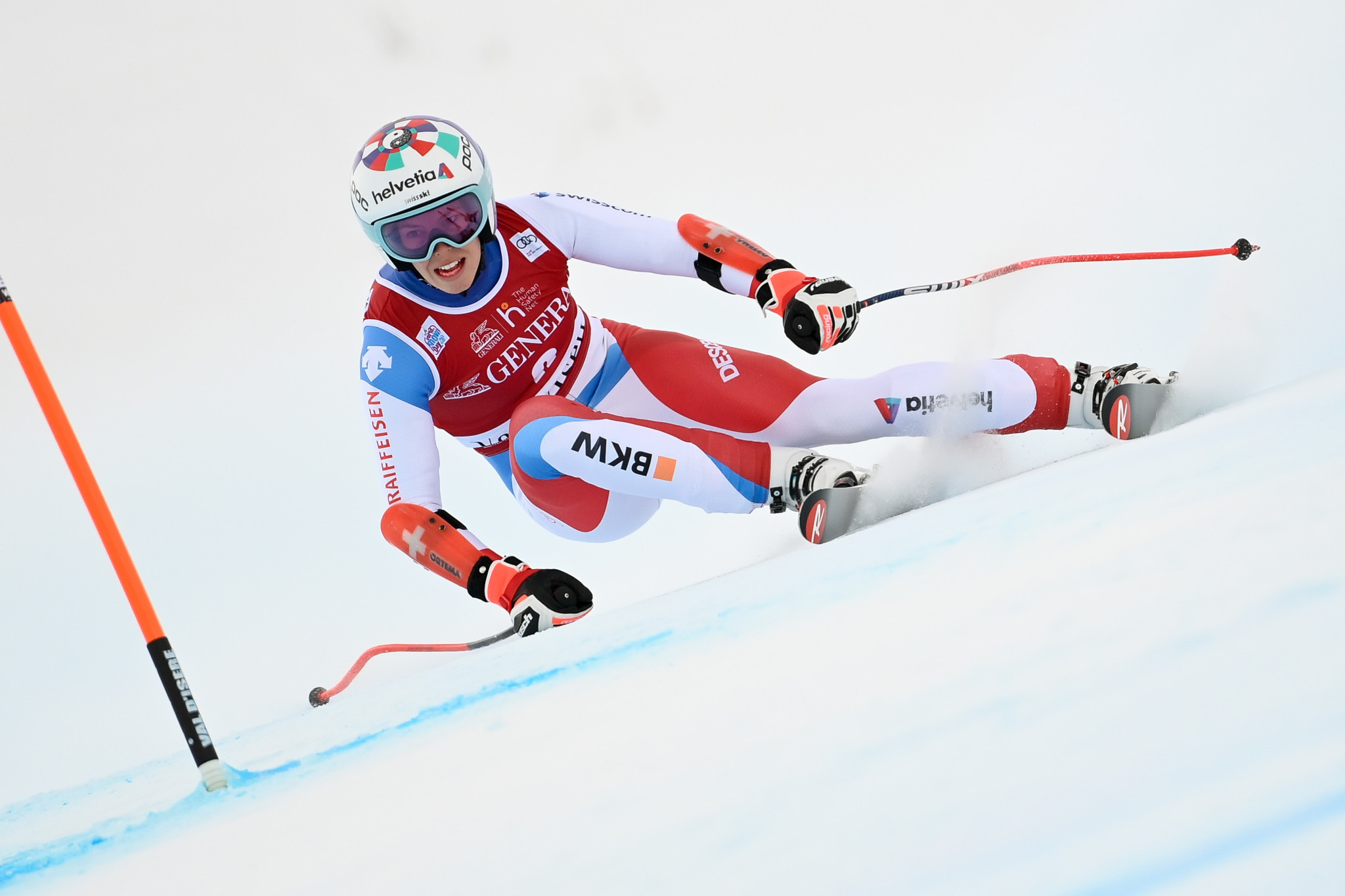 Michelle Gisin claimed her first win of the calendar year at the FIS Alpine Ski World Cup women's slalom in Semmering ©Getty Images
