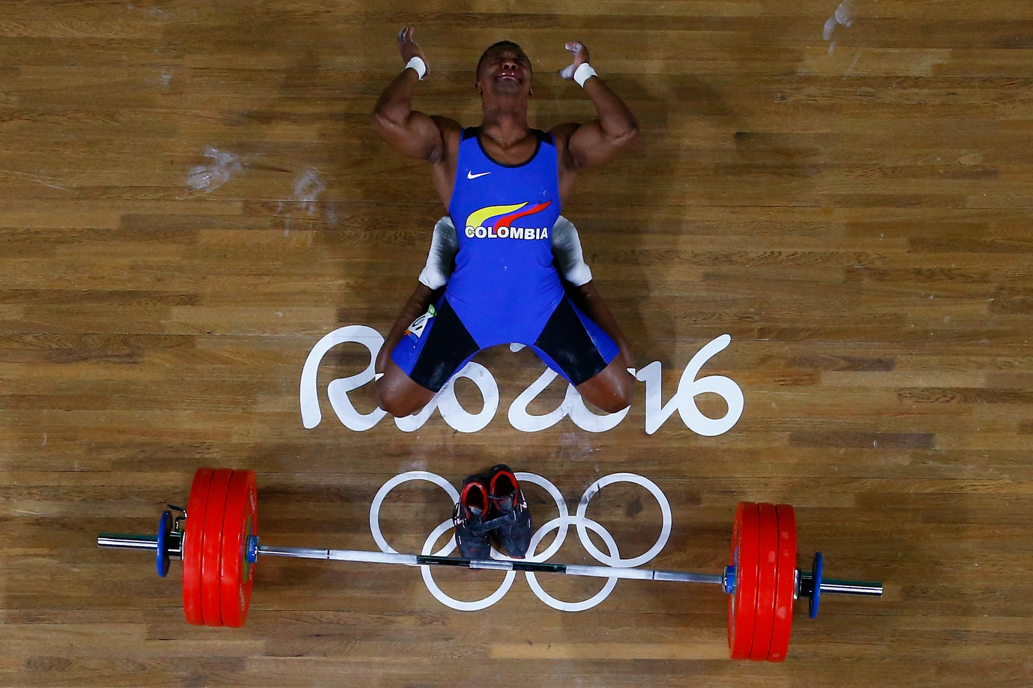 Oscar Figueroa won gold for Colombia in the men's 62kg category at the Rio 2016 Olympic Games ©Getty Images