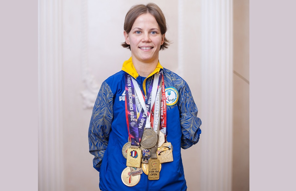 Vika Marchuk, a six-time world champion, is aiming to win her first Paralympic medal at Tokyo 2020 ©World Taekwondo