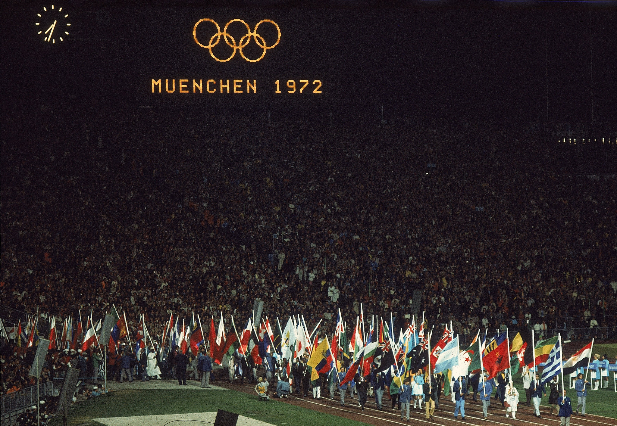 Walther Tröger was Mayor of the Olympic Village at Munich 1972 ©Getty Images