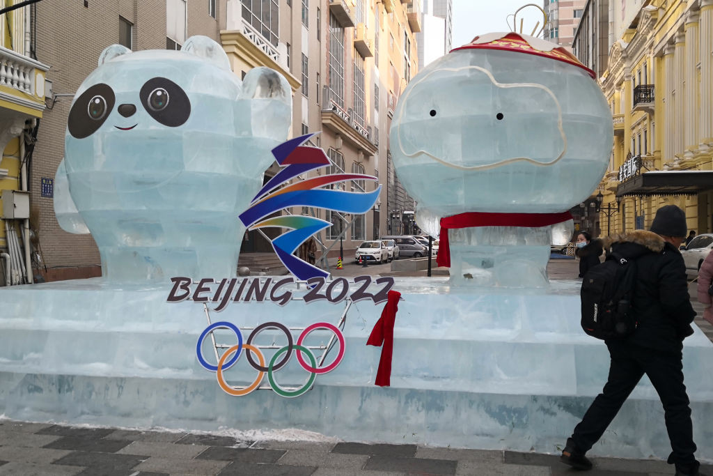 The unveiling of the pictograms is seen as a key milestone for Beijing 2022 ©Getty Images