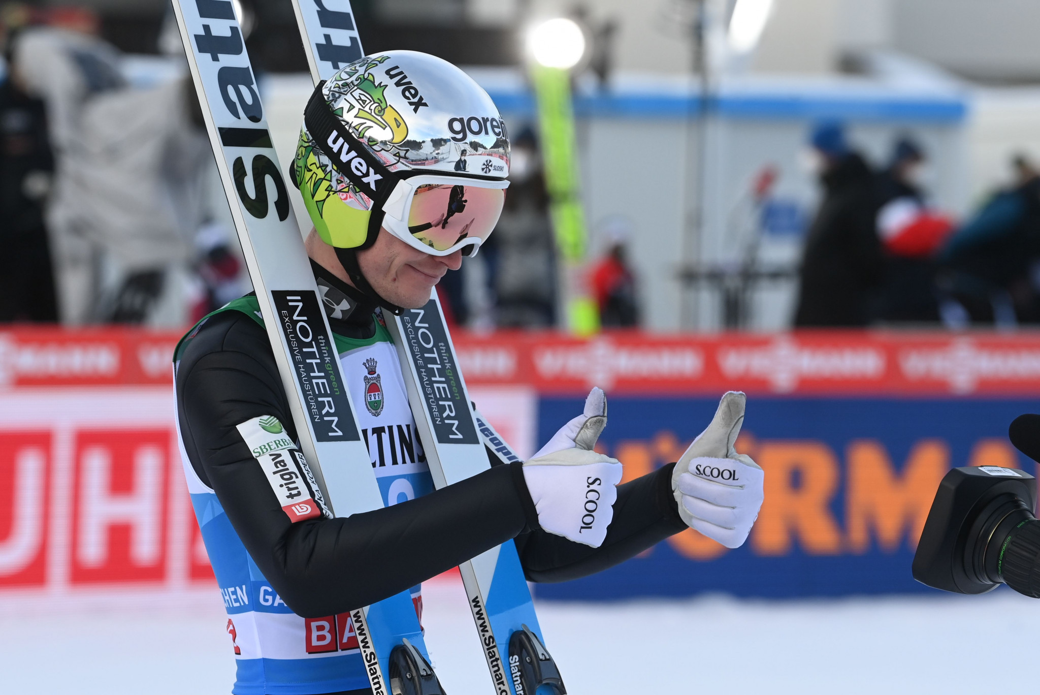 Lanišek ends year on high with Ski Jumping World Cup qualification joy in Germany