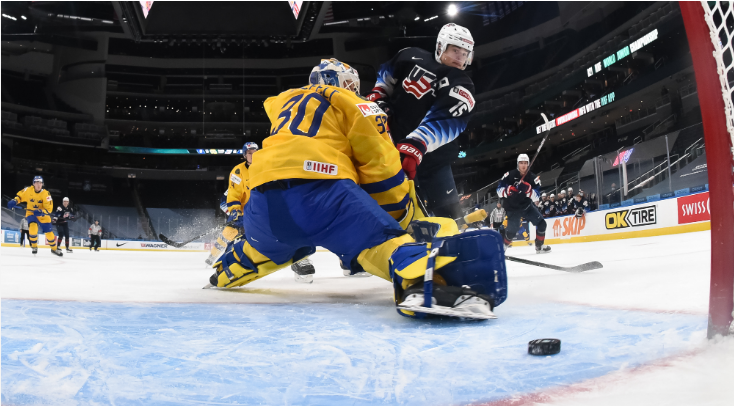US top group after beating Sweden at IIHF World Junior Championship