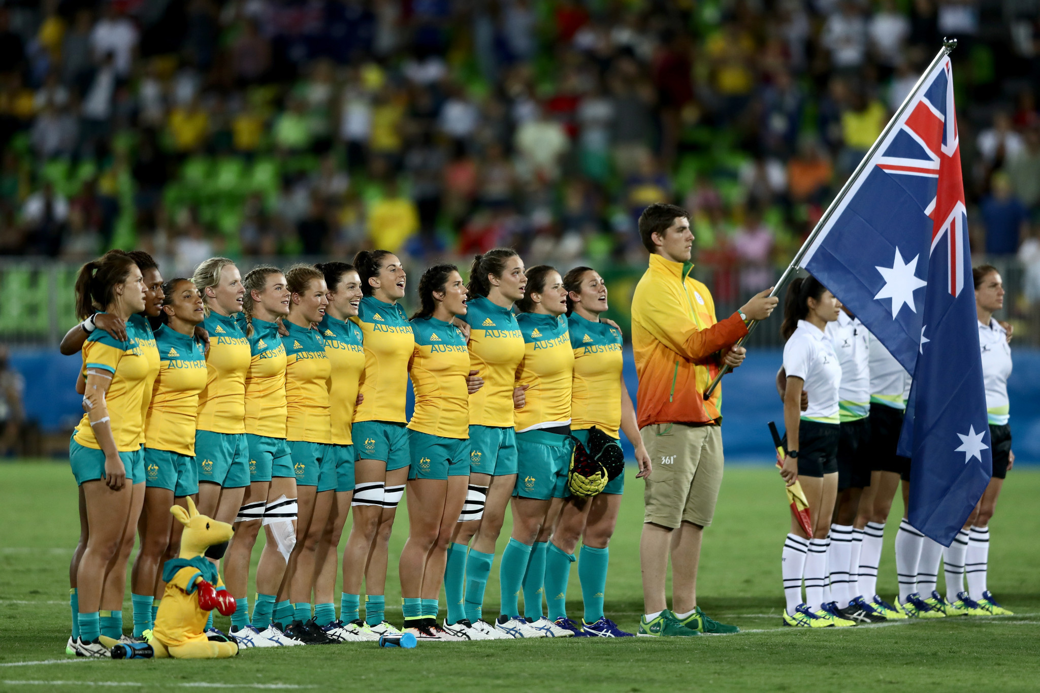 The lyrics to Australia's national anthem have been updated ©Getty Images