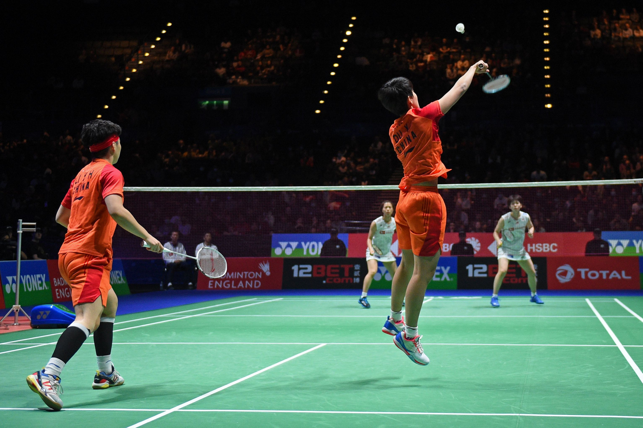 China has withdrawn from this month's BWF Yonex Thailand Open and Toyota Thailand Open ©Getty Images