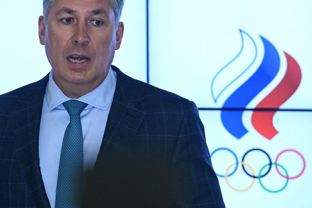ROC President Stanislav Pozdnyakov claimed Jonathan Taylor had tried to humiliate Russia ©Getty Images