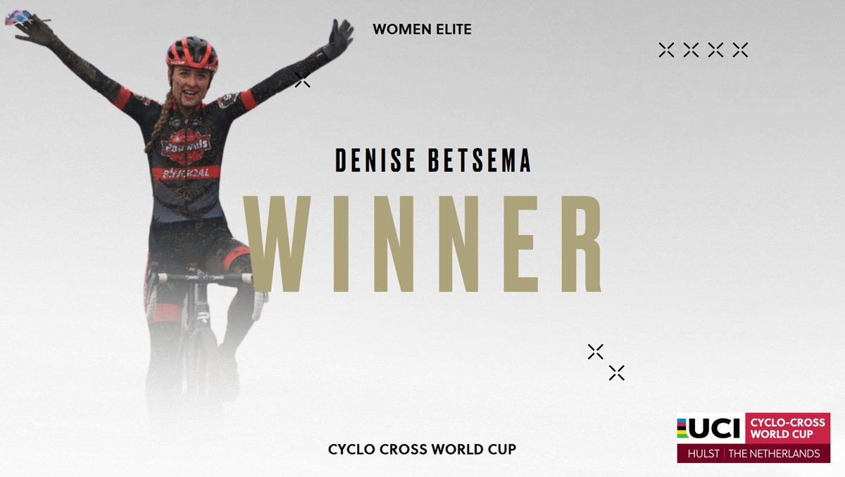 Betsema wins in Hulst as Brand seals UCI Cyclo-Cross World Cup series title