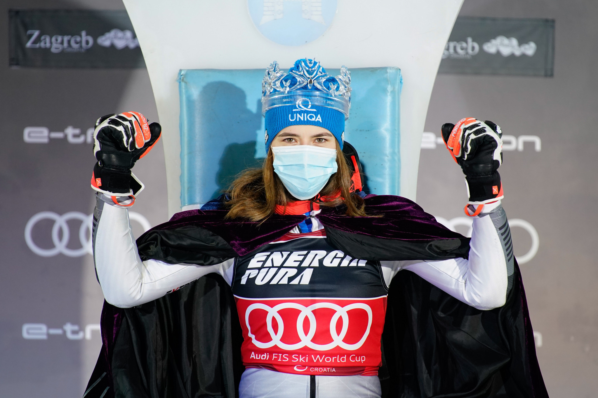 Vlhová retains Snow Queen title at FIS Alpine Ski World Cup event in Zagreb