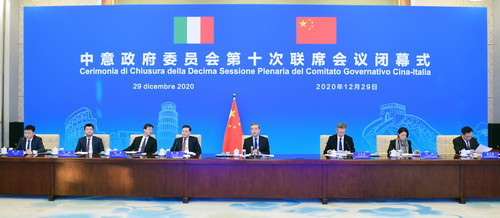 Italy and China agree to support each other in hosting 2022 and 2026 Winter Olympic Games