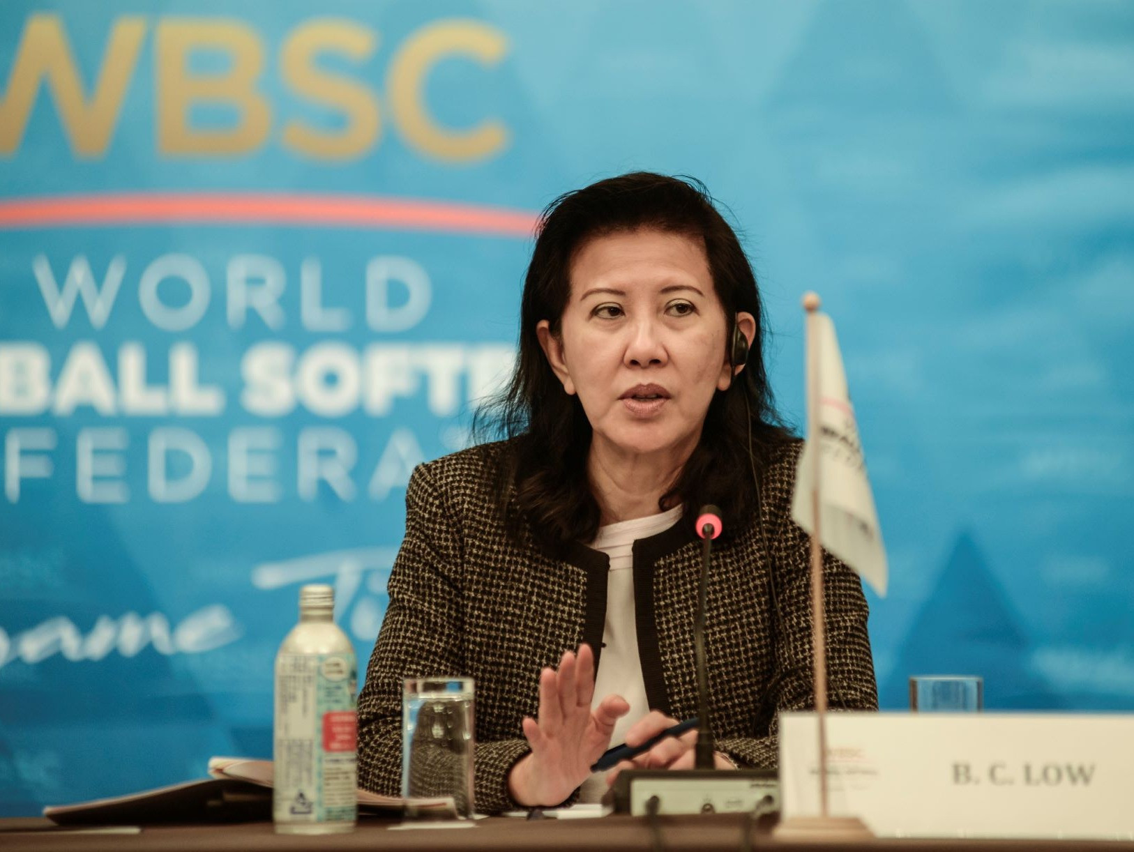 Beng Choo Low has praised the creation of the WBSC Integrity Unit in her latest message ©WBSC