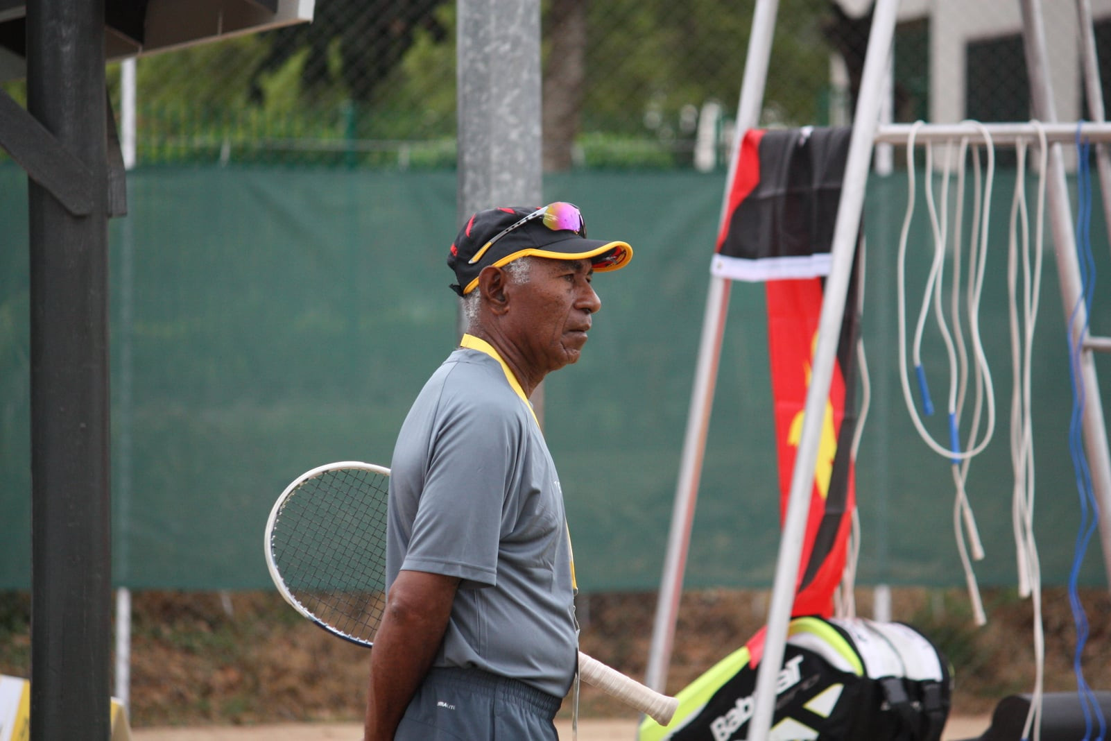 Papua New Guinea Olympic Committee pay tribute to coach Apisah