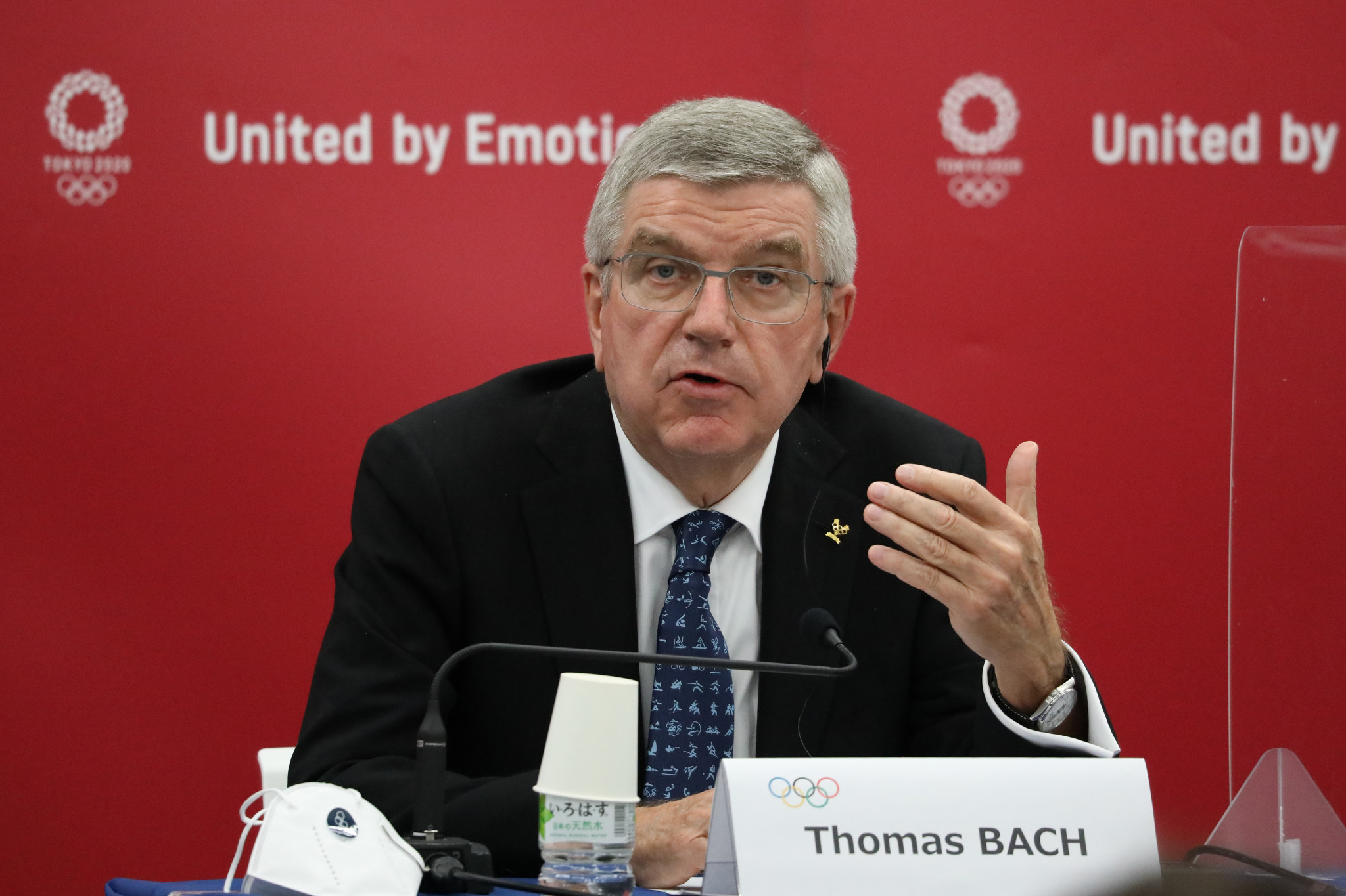 IOC President Thomas Bach has previously expressed his concerns about the draft sports law ©Getty Images