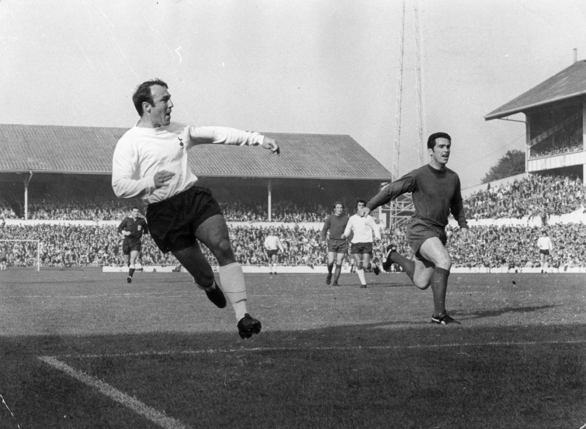 Jimmy Greaves remains' Tottenham Hotspur's all-time leading scorer ©Getty Images