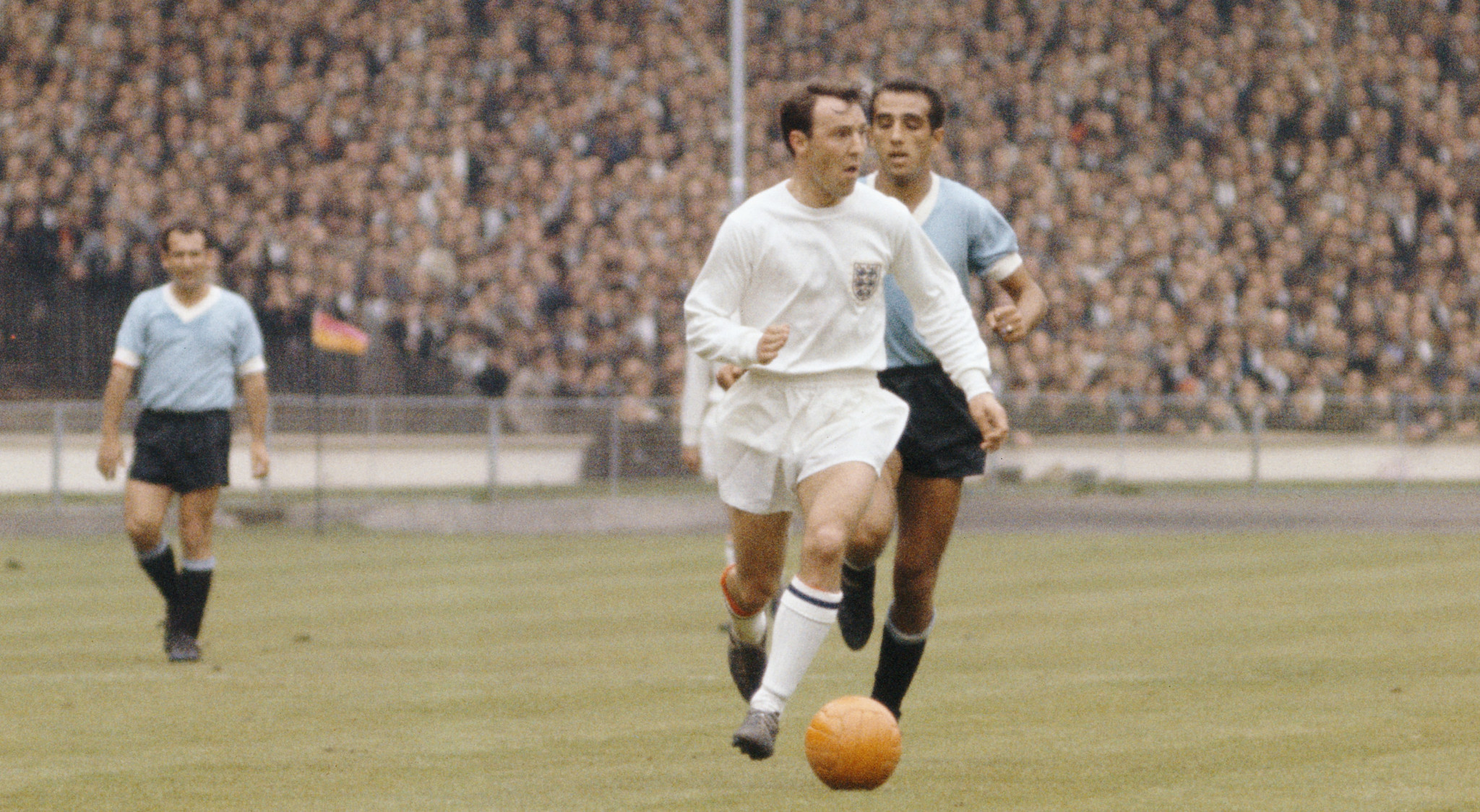 Jimmy Greaves won the FIFA World Cup in 1966 with England ©Getty Images
