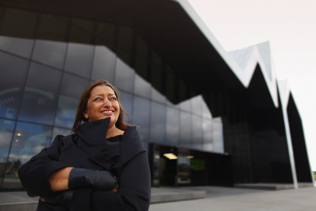 Zaha Hadid says the Japan Sports Council has attempted to secure copyright of her work ©Getty Images