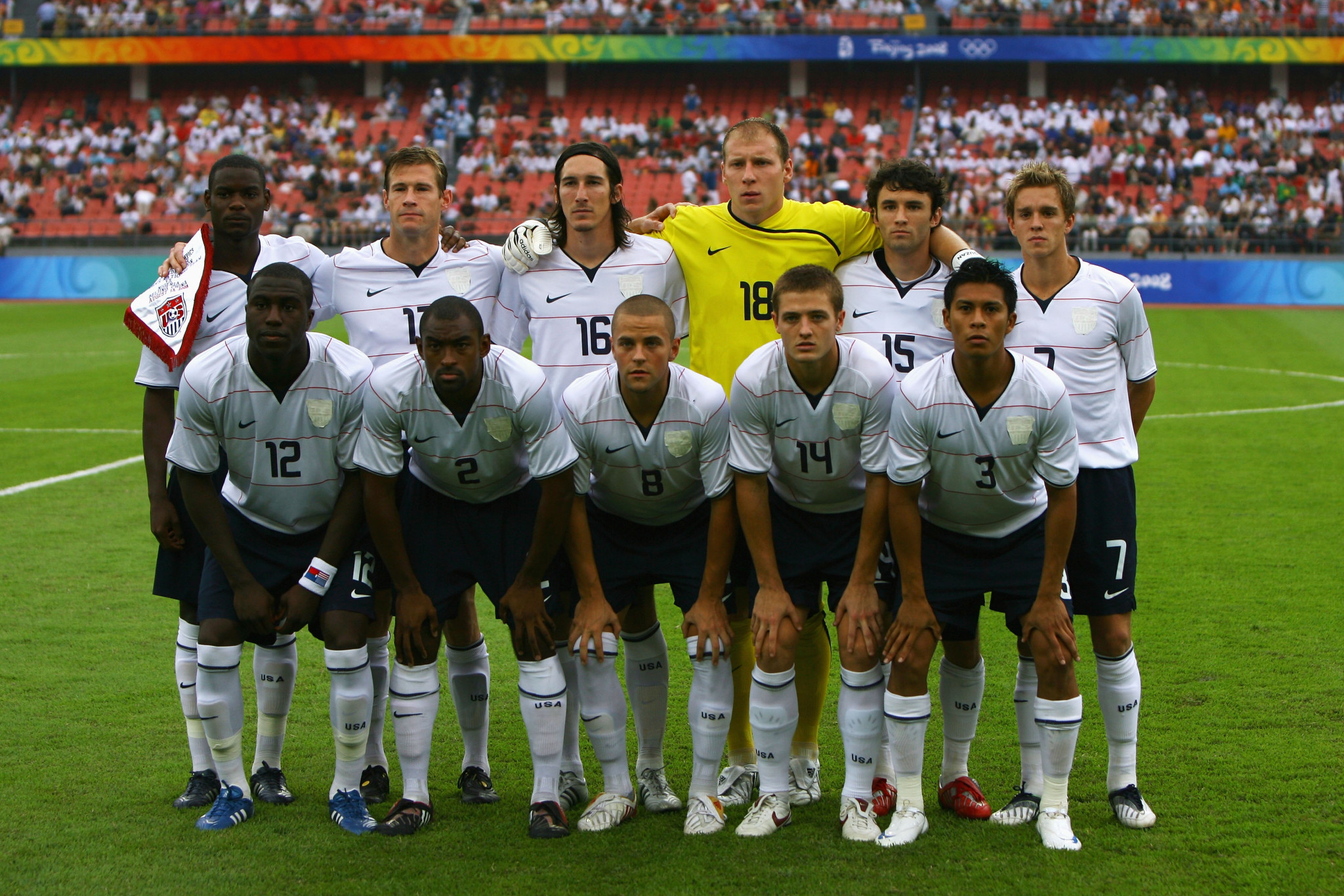 The United States last appeared in the men's football Olympic tournament at Beijing 2008 ©Getty Images
