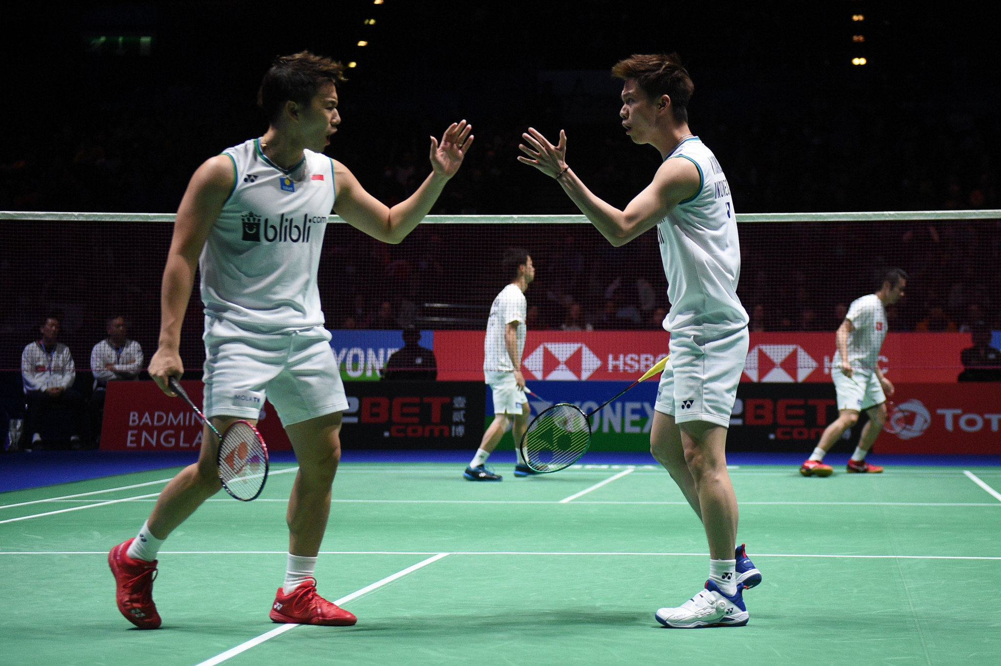 World number one doubles pair withdraw from BWF World Tour Finals after positive COVID-19 test