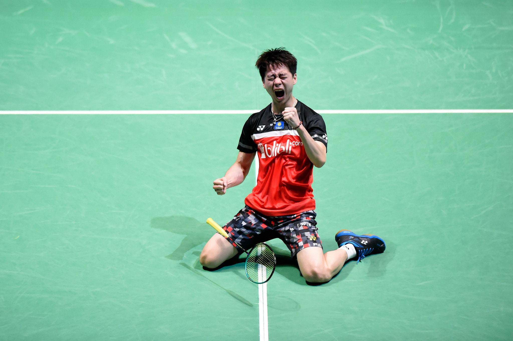 Kevin Sanjaya Sukamuljo said he hoped he could recover quickly after testing positive for COVID-19 three times ©Getty Images