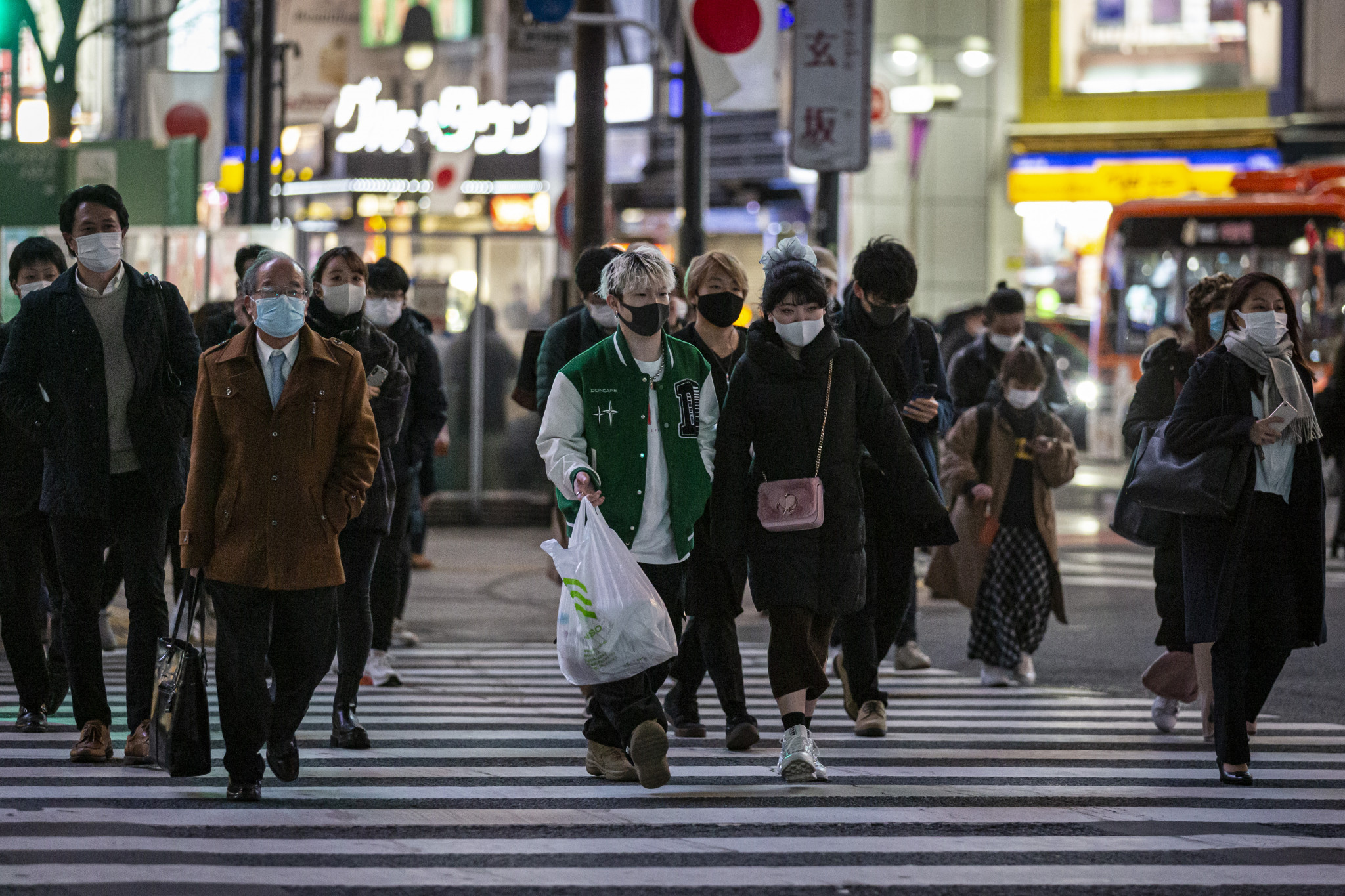 Japan has recorded a daily high number of coronavirus cases ©Getty Images