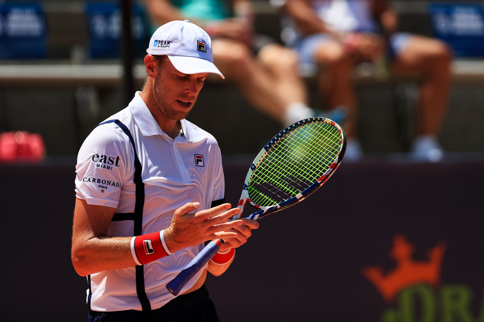 Sam Querrey was due to play in an ATP 500 event in St Petersburg before contracting coronavirus ©Getty Images