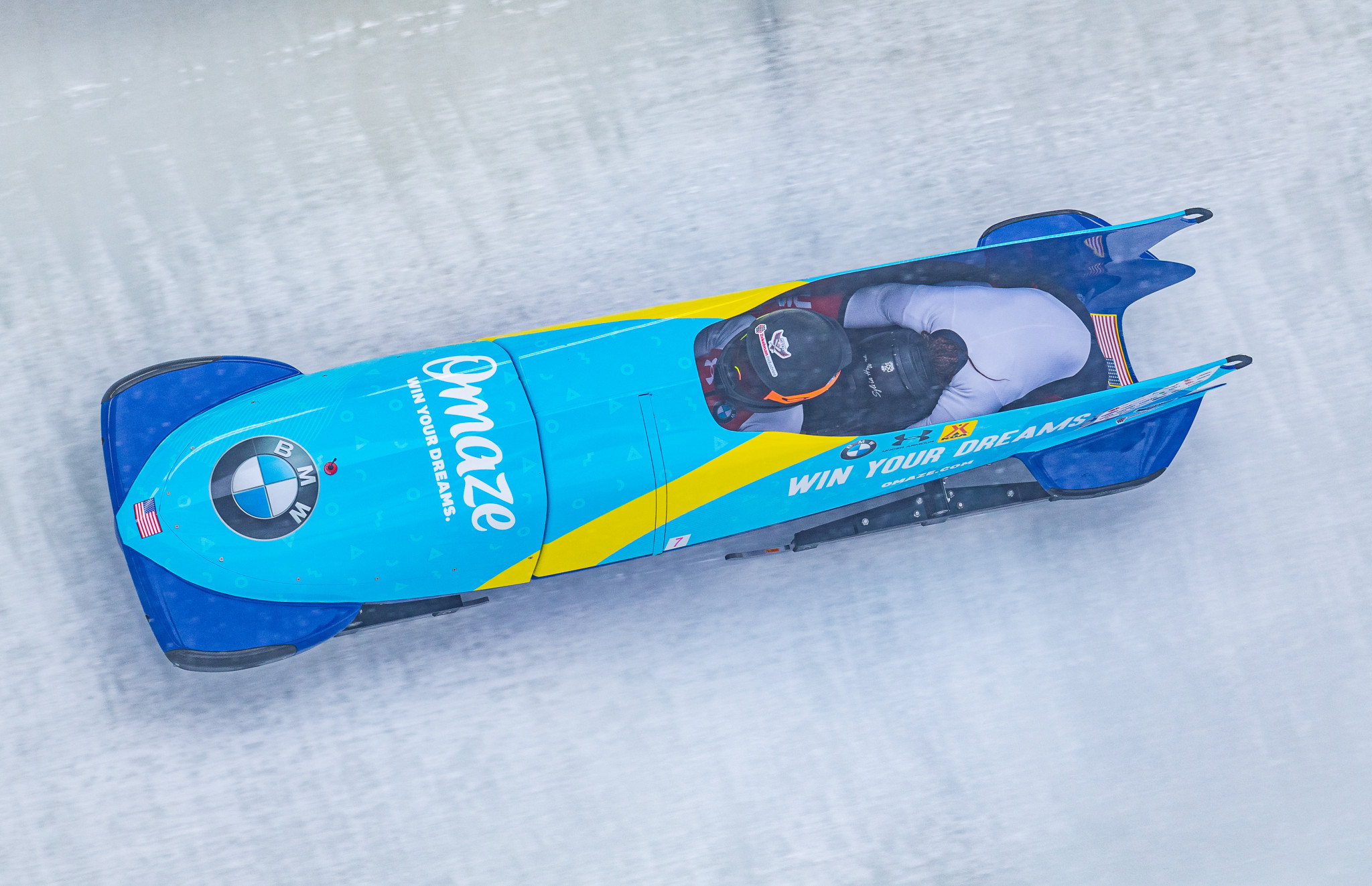 The United States will return to the IBSF World Cup in Winterberg ©Getty Images