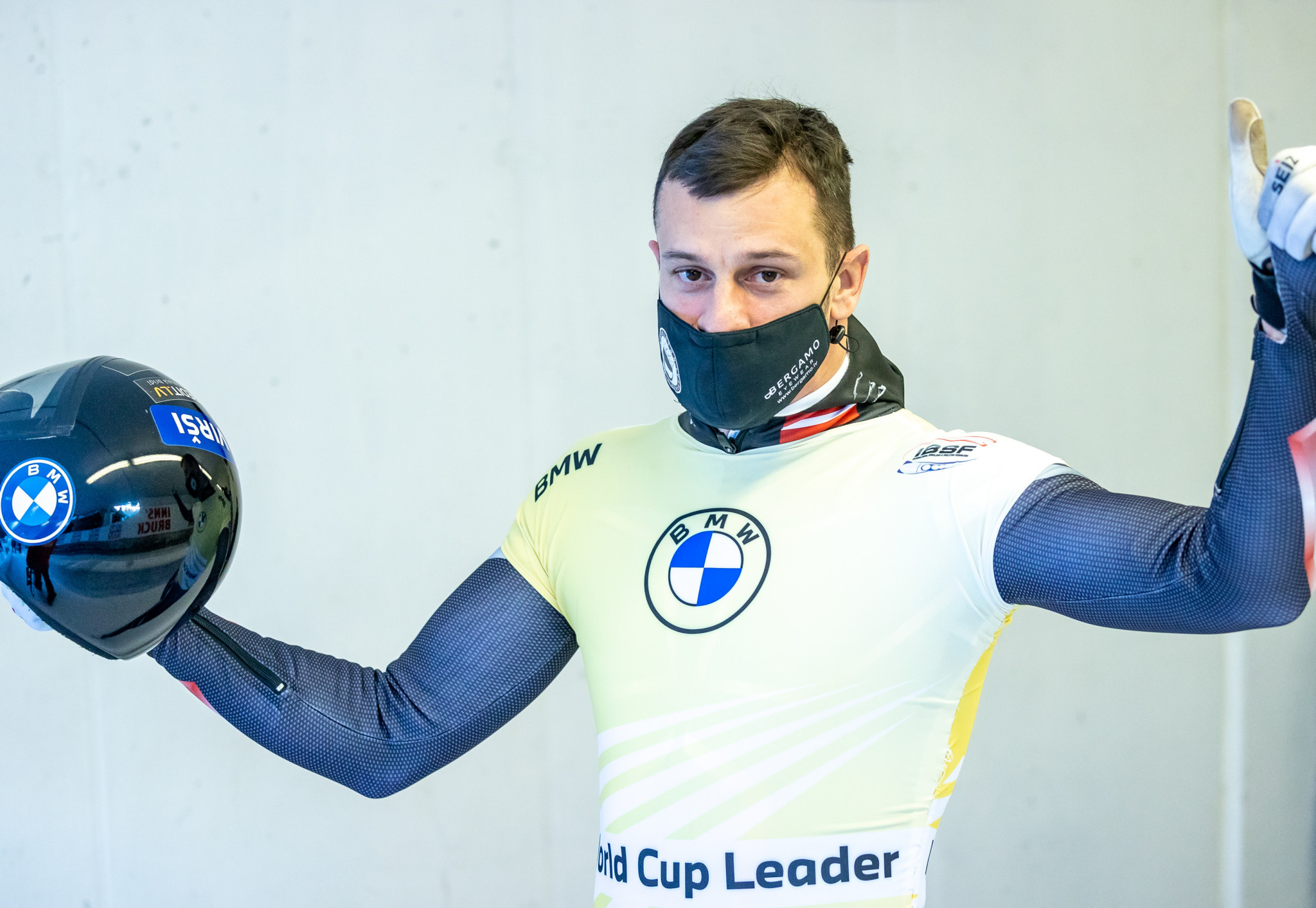 Martins Dukurs leads the men's skeleton World Cup standings ©Getty Images
