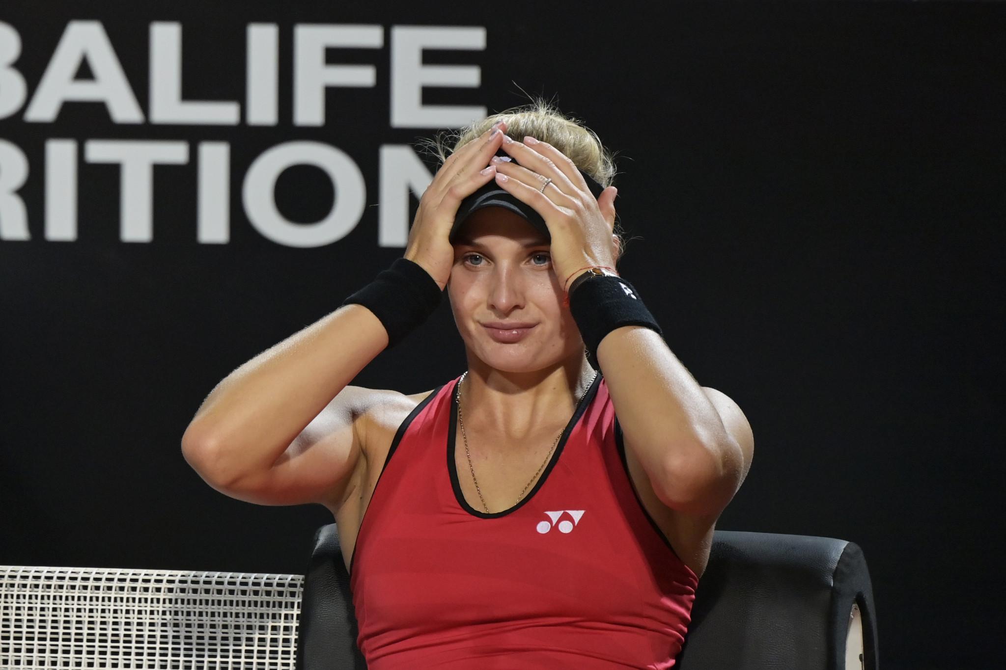 World number 29 Yastremska provisionally suspended for doping violation