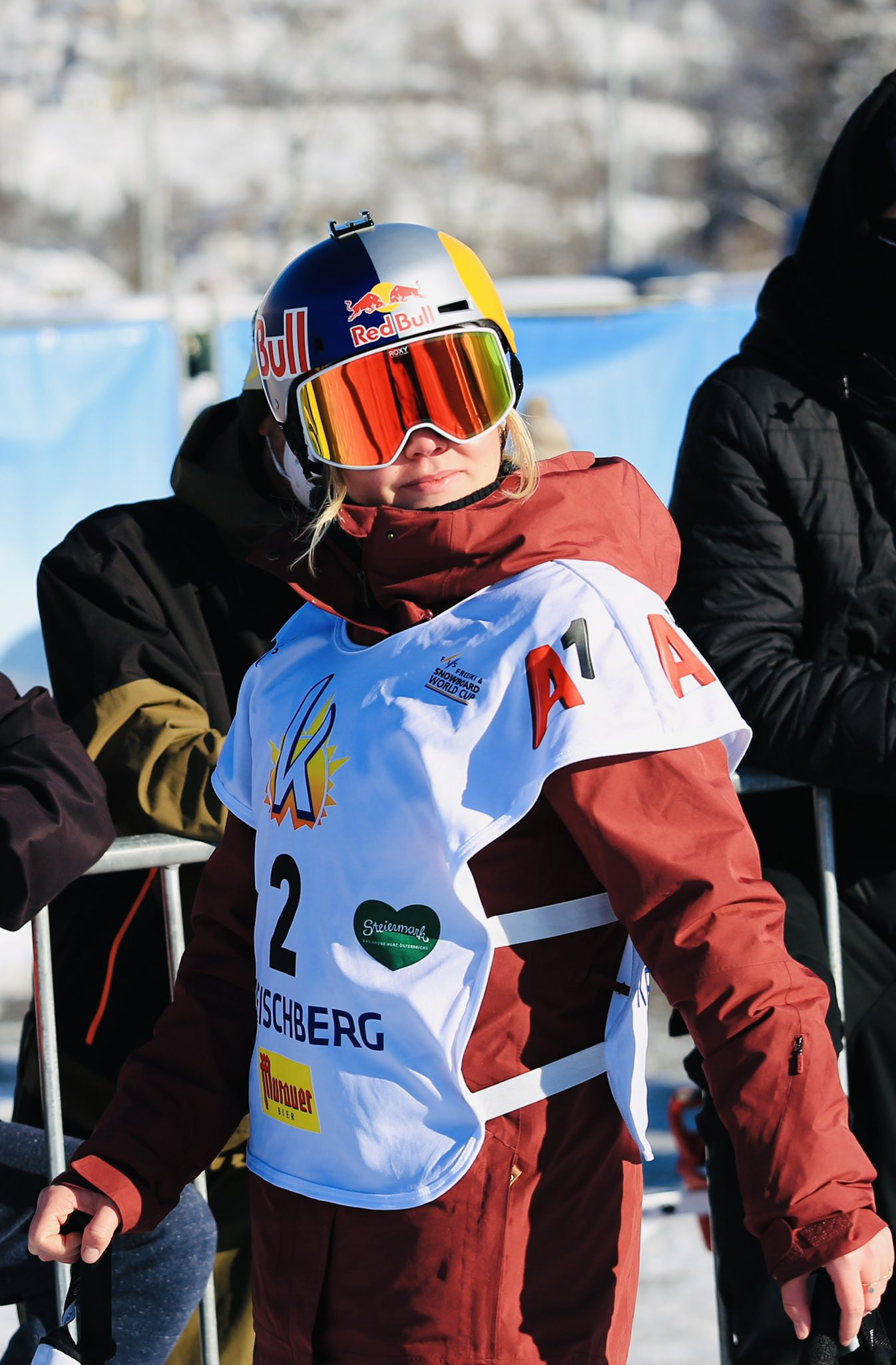 Ledeux tops women's qualification standings at first FIS Freeski Big Air competition of the season