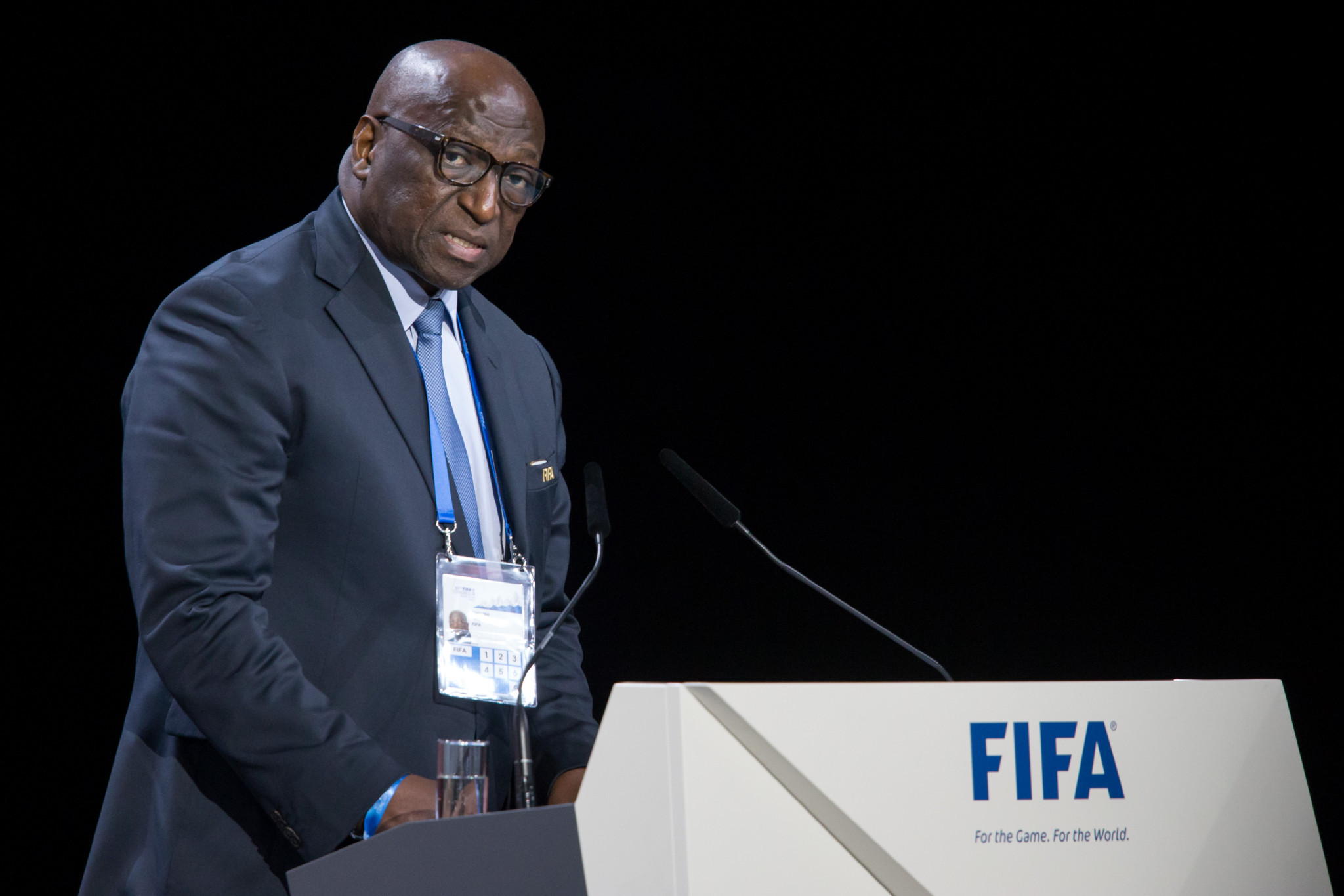 Jacques Anouma, former President of the Ivorian Football Federation is in the running to replace Ahmad as head of the CAF ©Getty Images