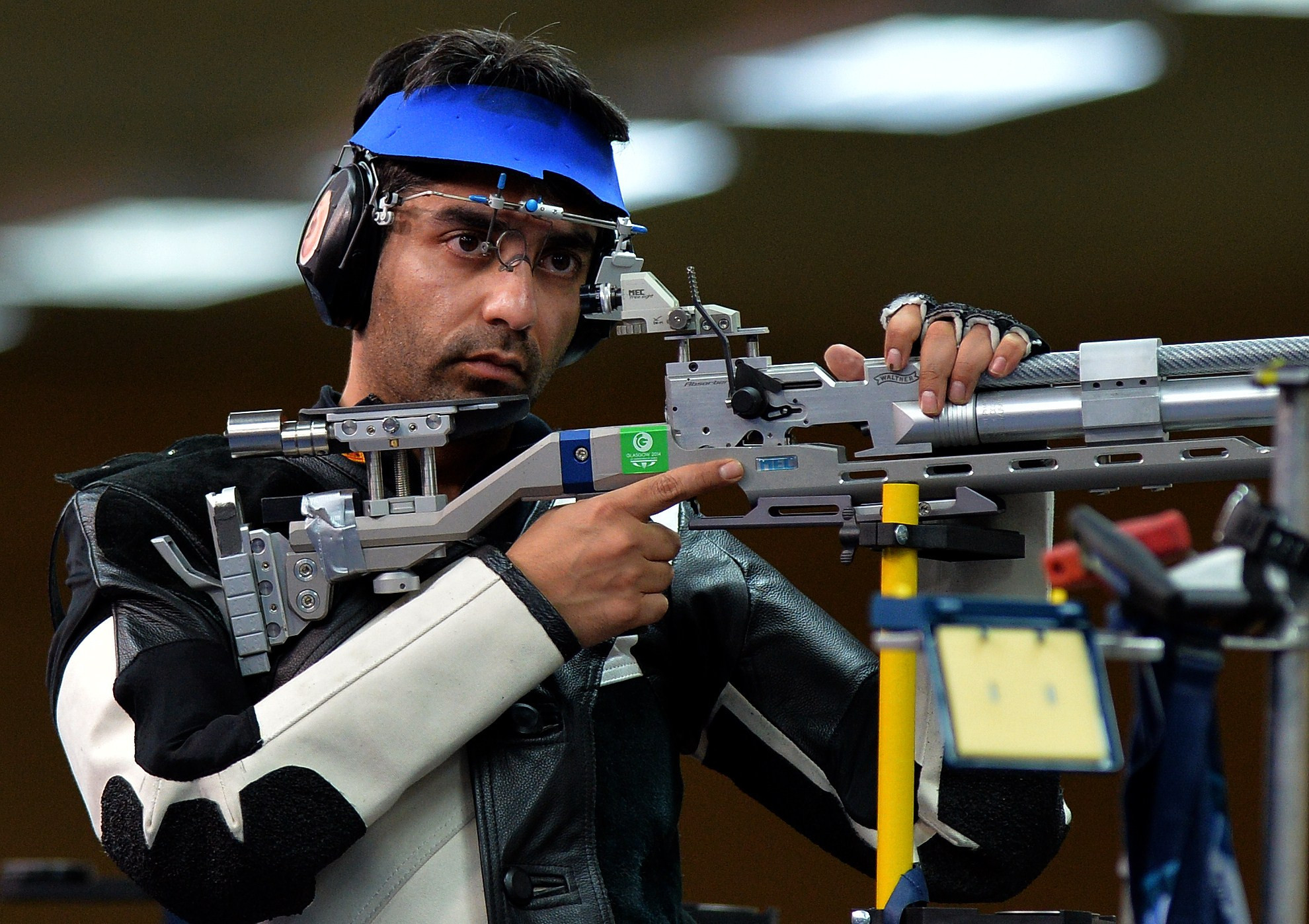 Former shooter Abhinav Bindra is due to speak at the upcoming Global Sports Week Paris ©Getty Images