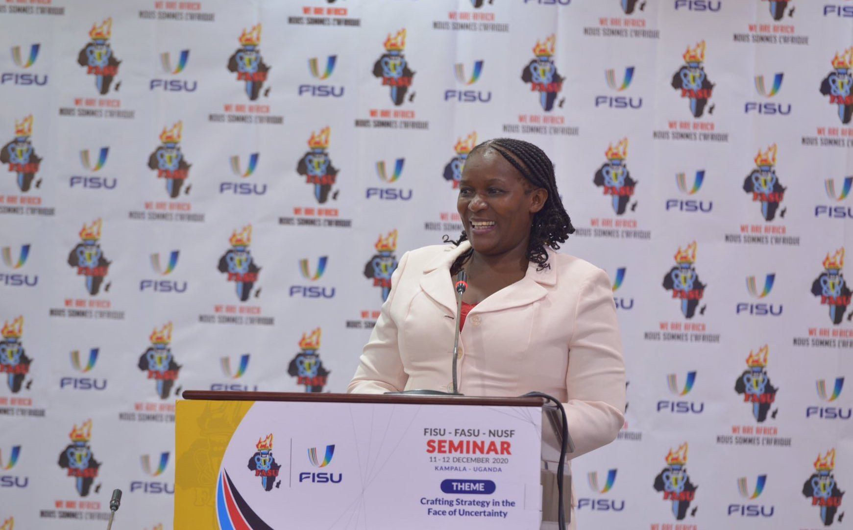 Penninah Kabenge has been involved in university sport for over three decades ©FISU