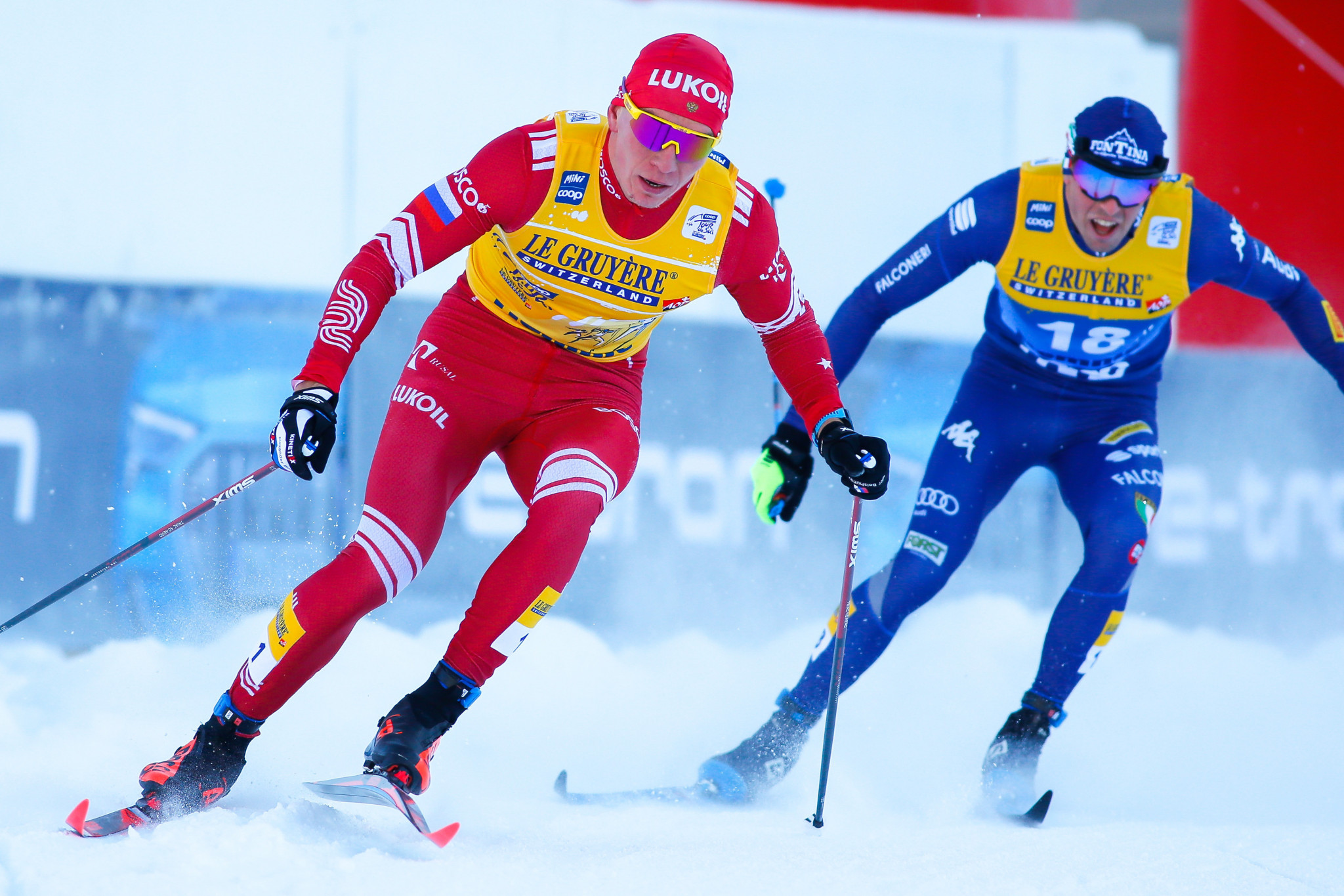 Bolshunov claims record-equalling fifth straight Tour de Ski win in Italy