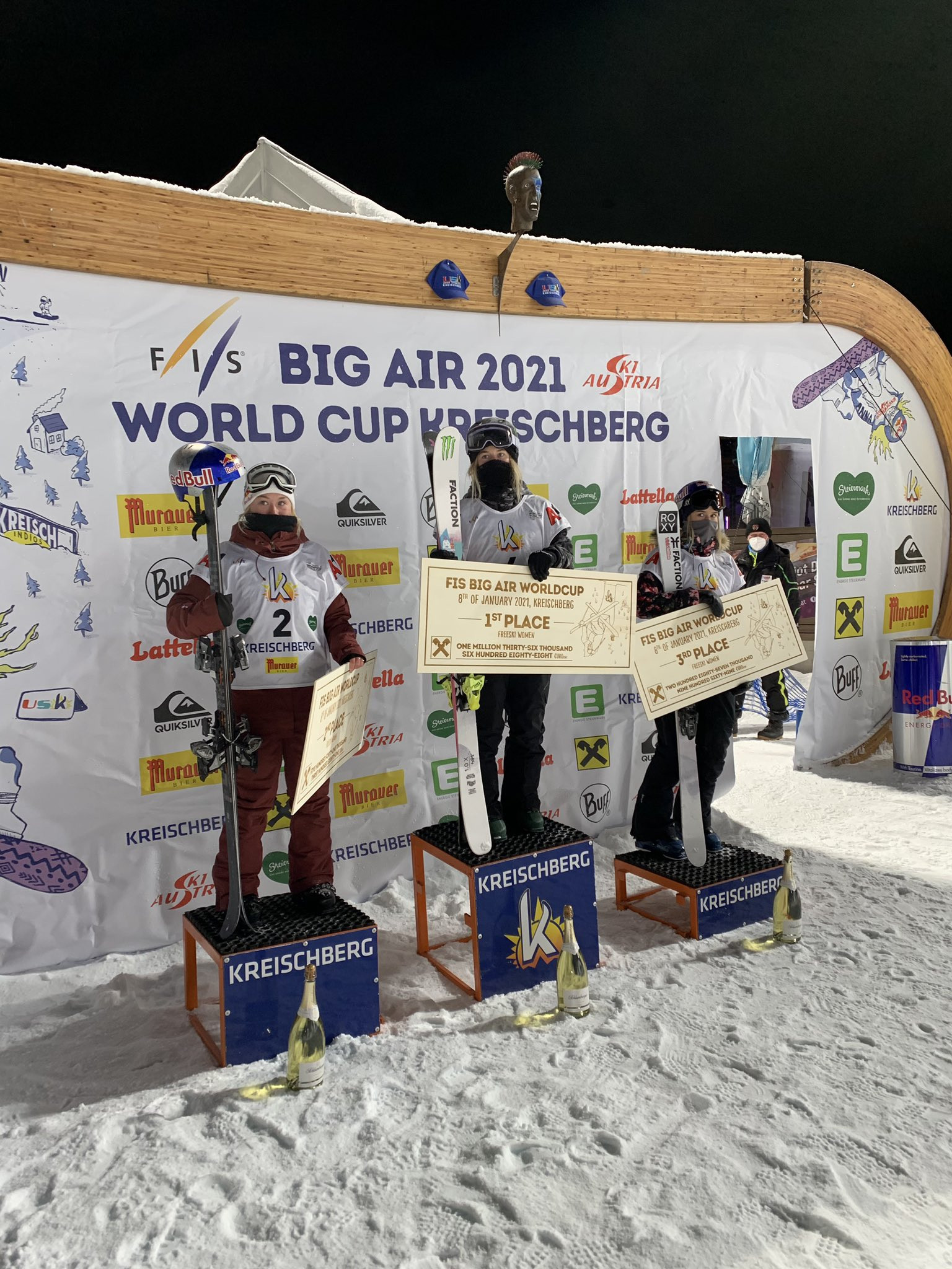 Ledeux defeated by Tanno at first FIS Freeski Big Air World Cup of season