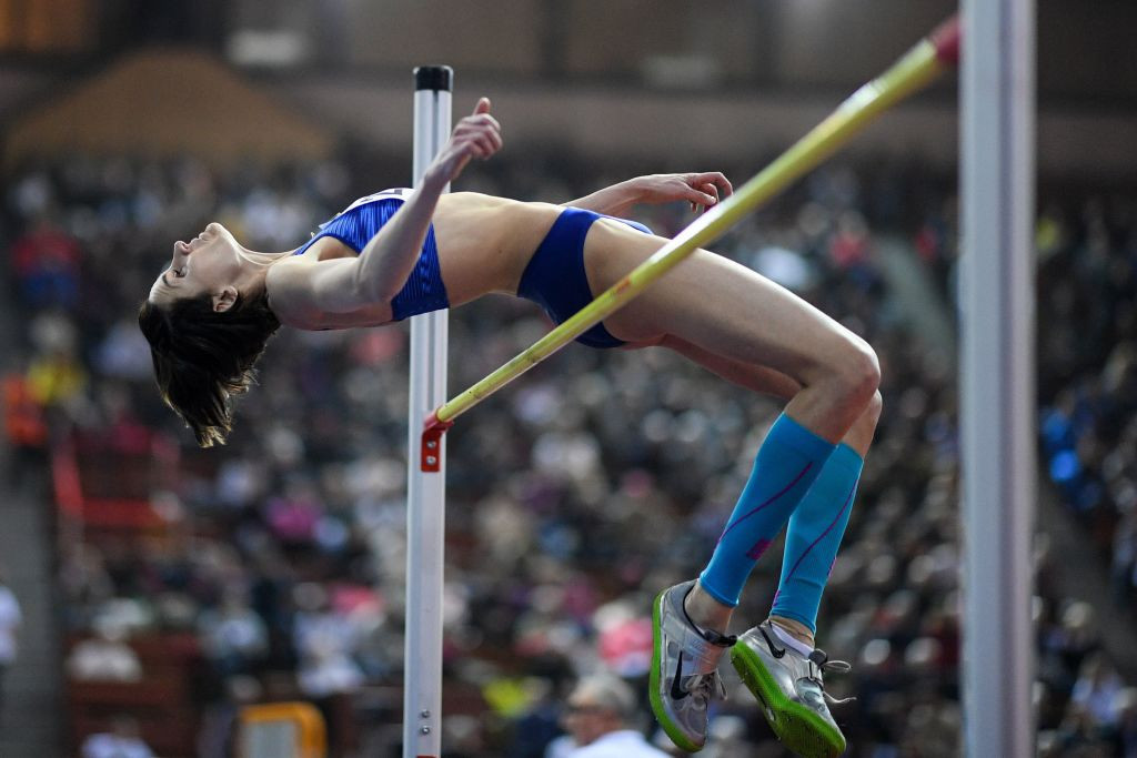 Russian high jumper Chicherova performs U-turn on retirement decision