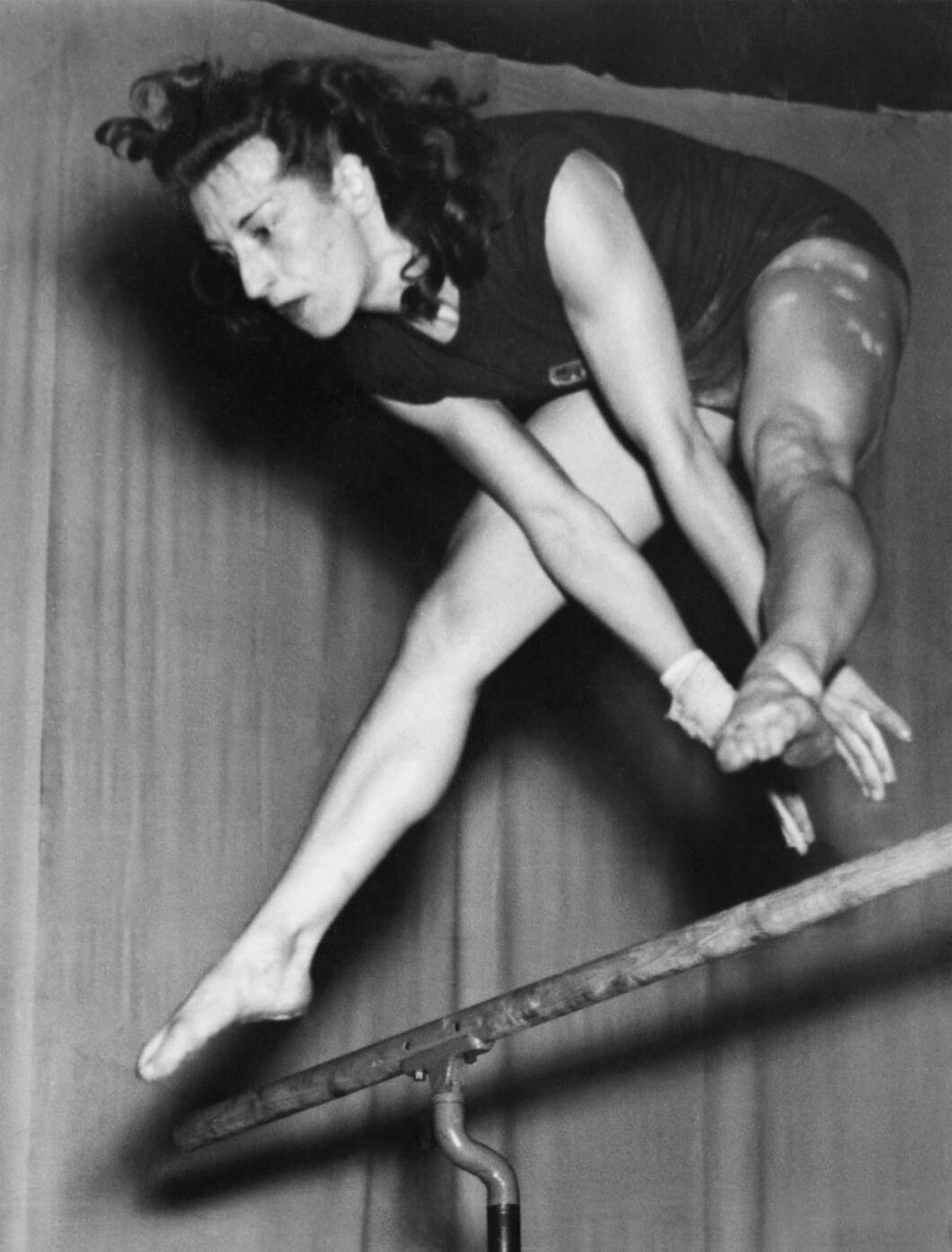 Agnes Keleti has turned 100 today ©IOC