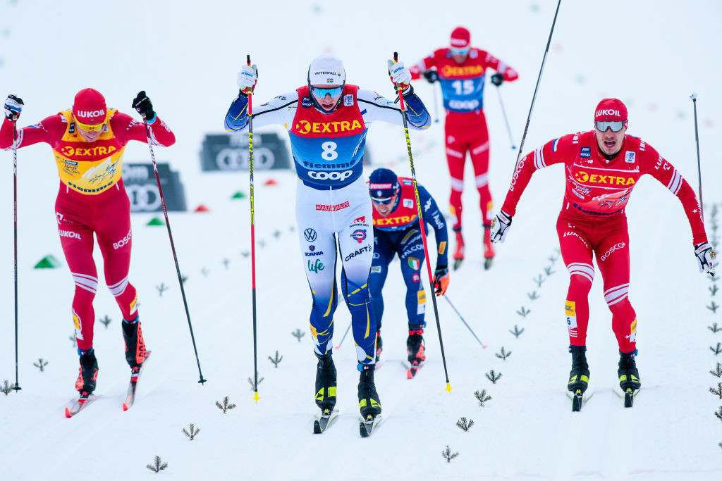Oskar Svensson earned his maiden World Cup victory on a successful day for Sweden ©Getty Images