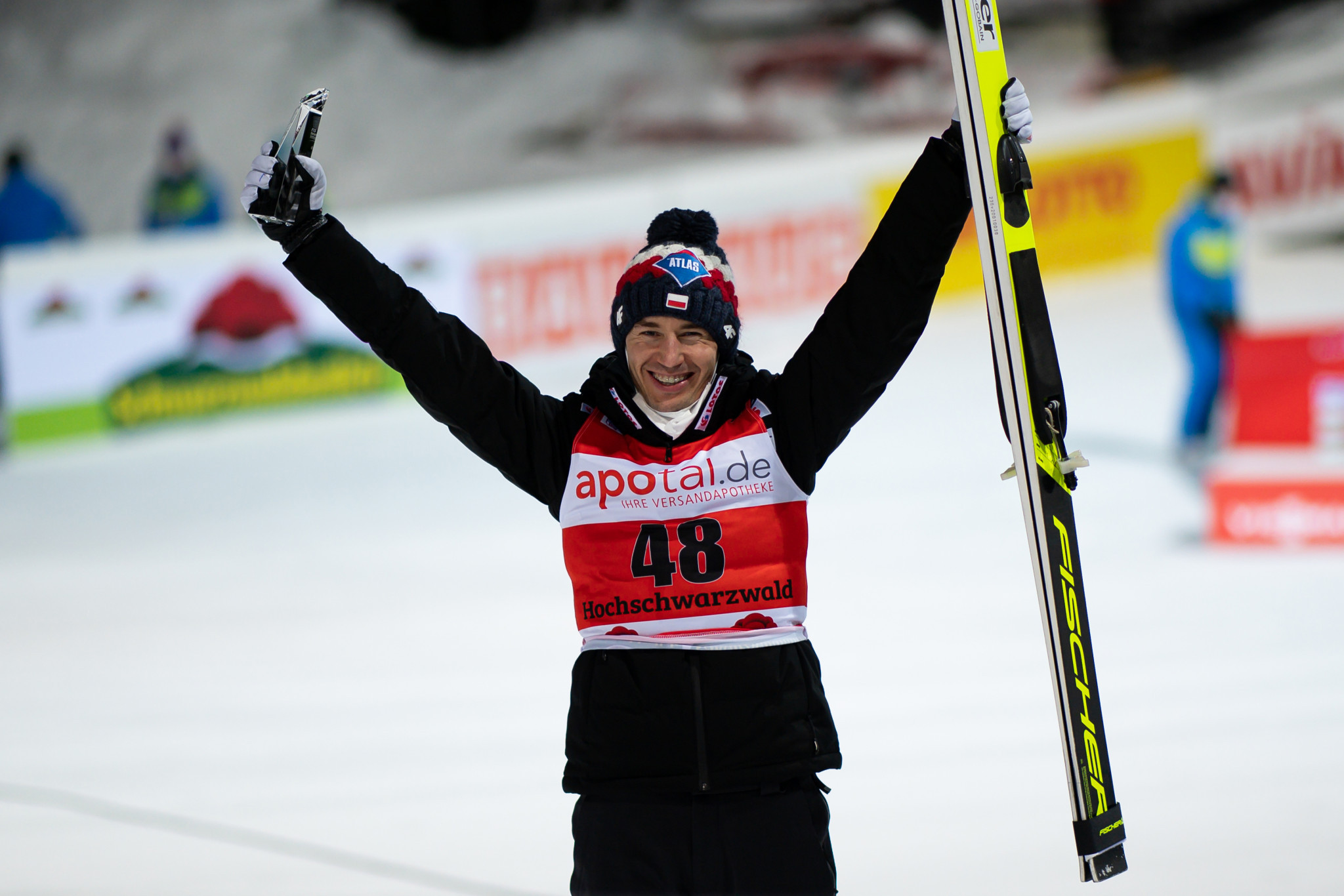 Stoch wins third event in a row at FIS Ski Jumping World Cup in Titisee-Neustadt
