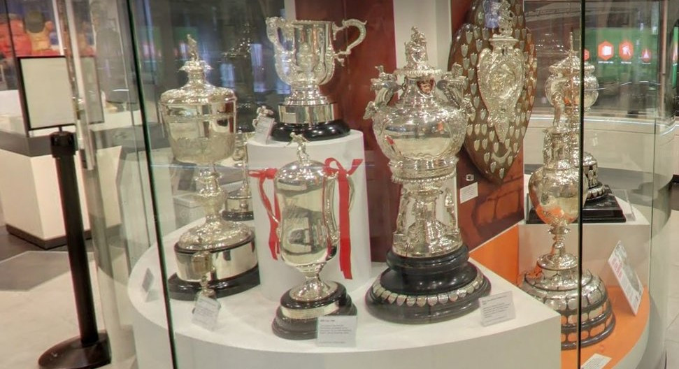 The second edition of the FA Cup, which was awarded between 1896 and 1910, is to be put back on display at the National Football Museum in Manchester when it reopens after the coronavirus crisis ©Twitter