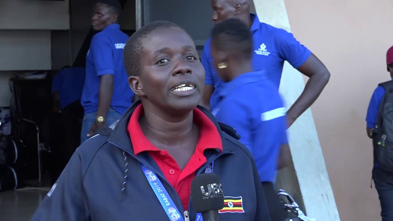African Games boxing bronze medallist Hellen Baleke is aiming to teach women in Uganda how to defend themselves ©YouTube