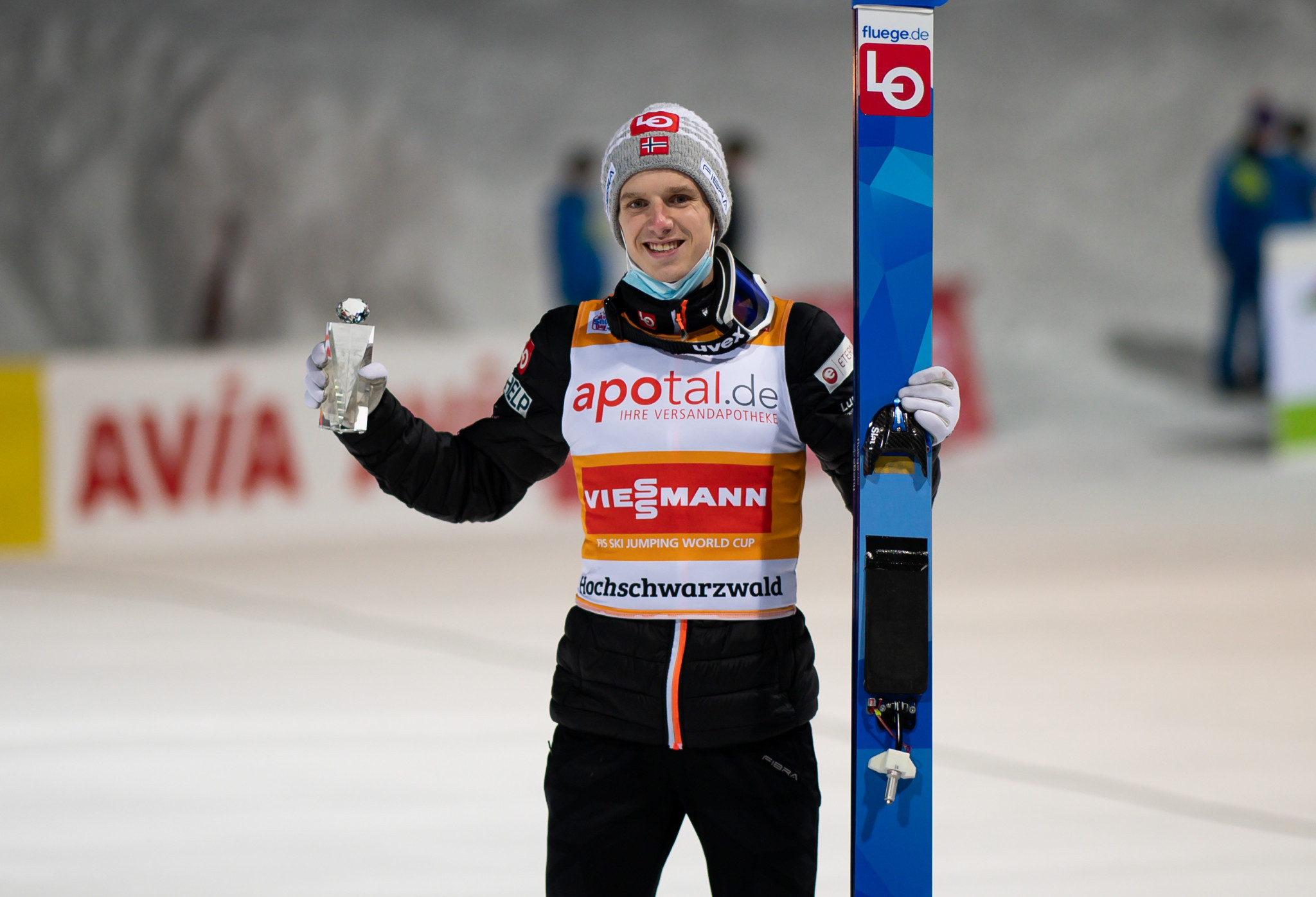 Granerud wins second day in Titisee-Neustadt at FIS Ski Jumping World Cup