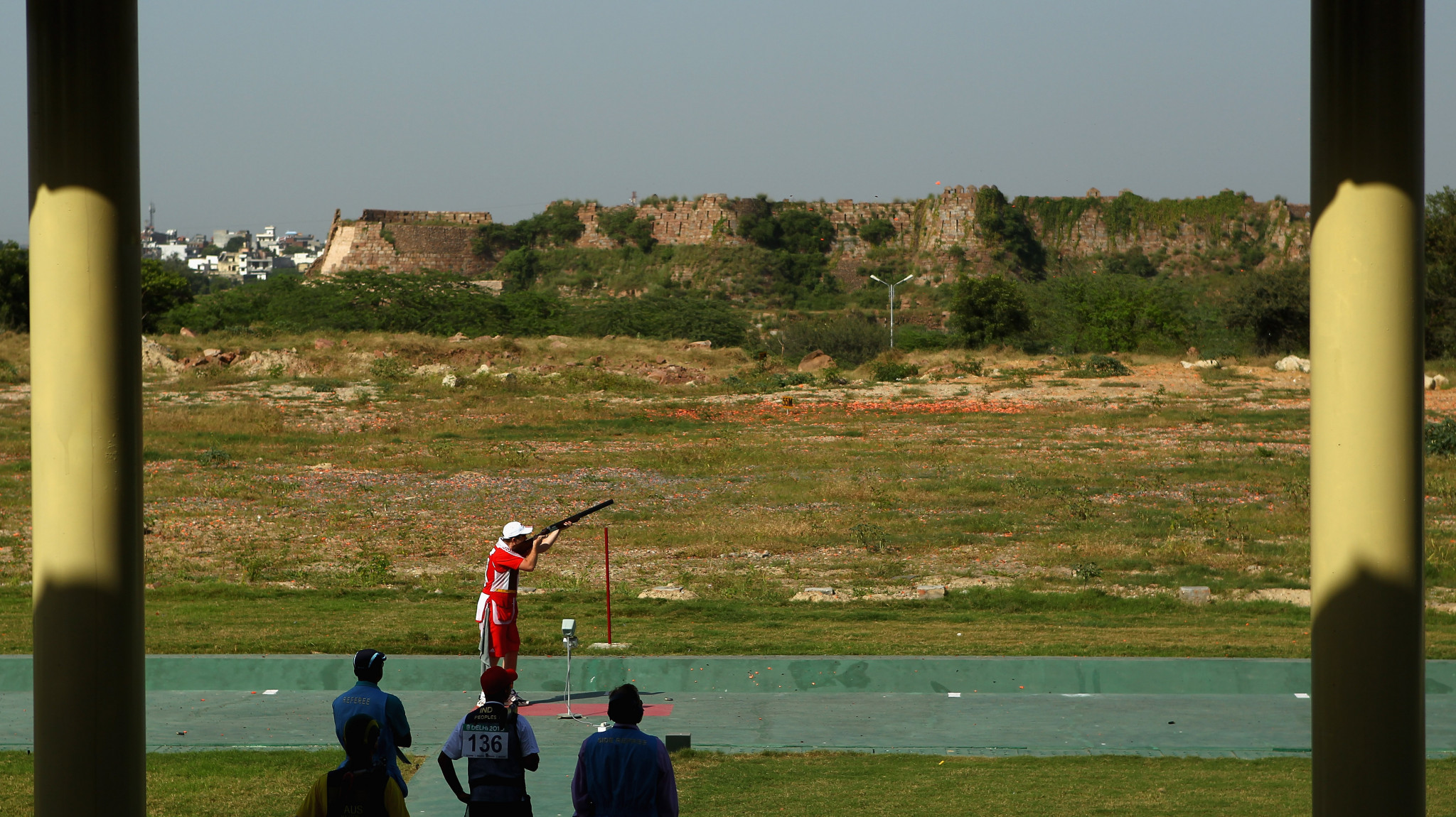 The Dr Karni Singh Shooting Range hosted shooting at the 2010 Commonwealth Games in New Delhi, with India topping the shooting medal table ©Getty Images